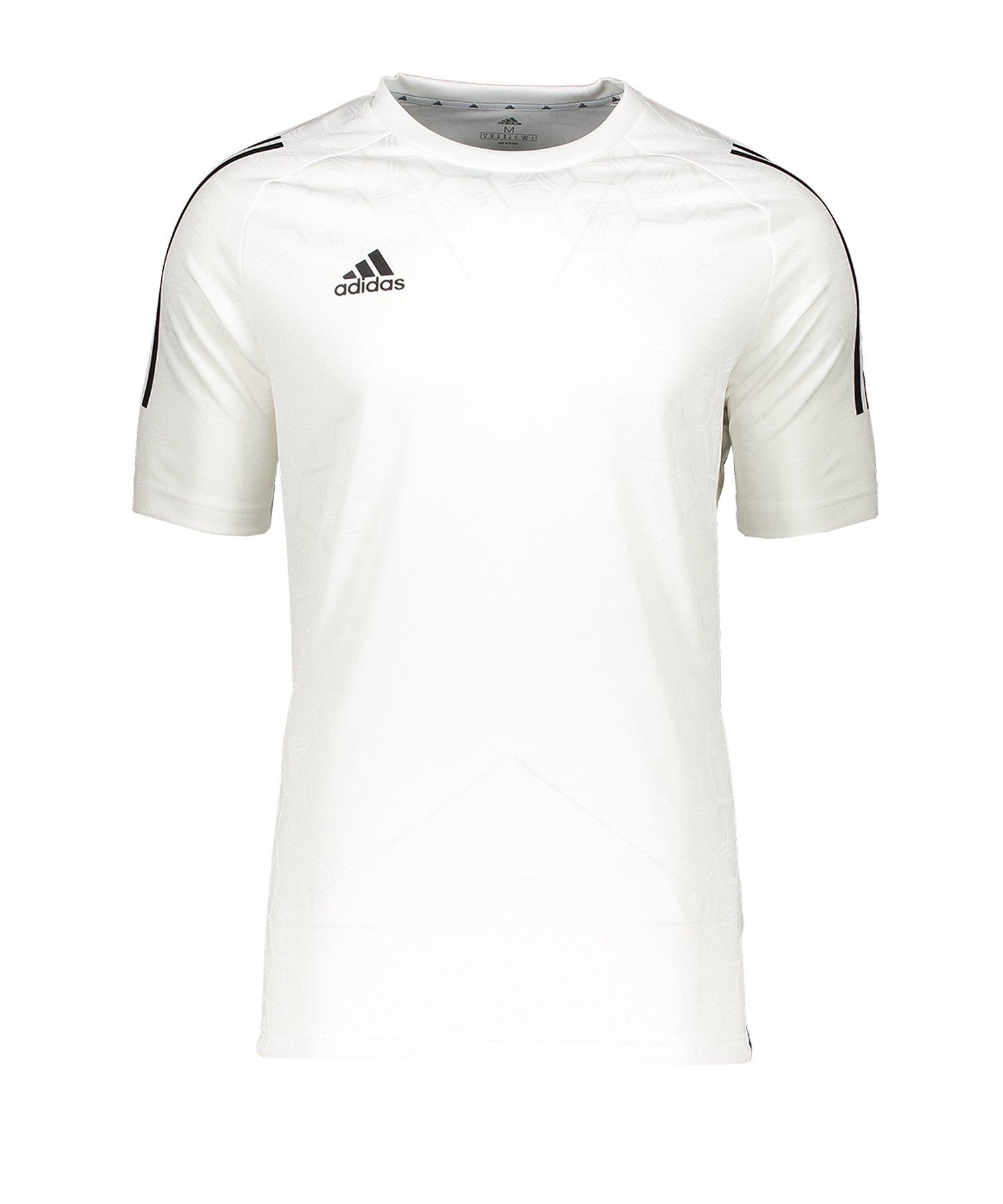 adidas Tango JQD T-Shirt Weiss - weiss