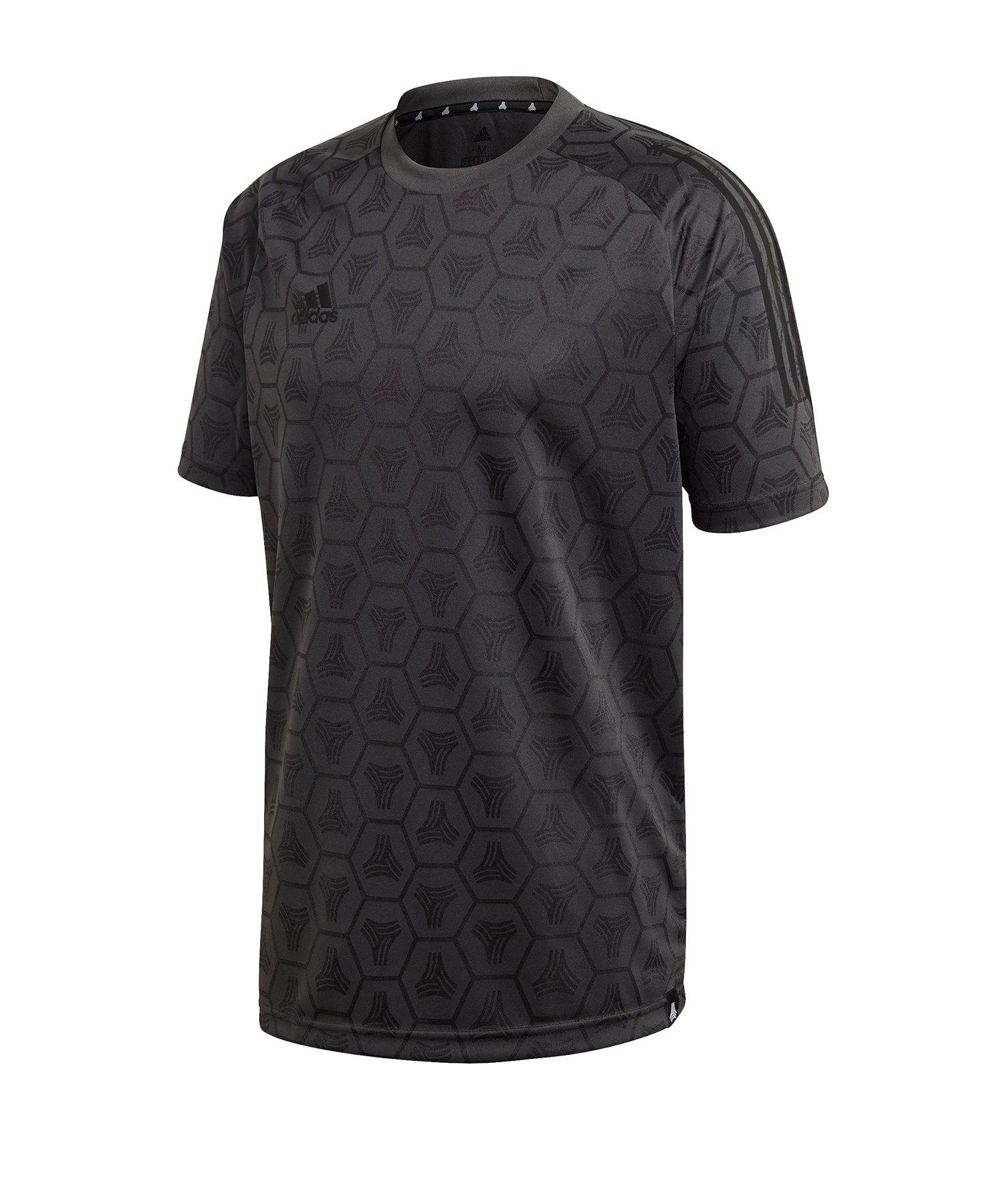 adidas Tango JQD Shirt kurzarm Grau - grau