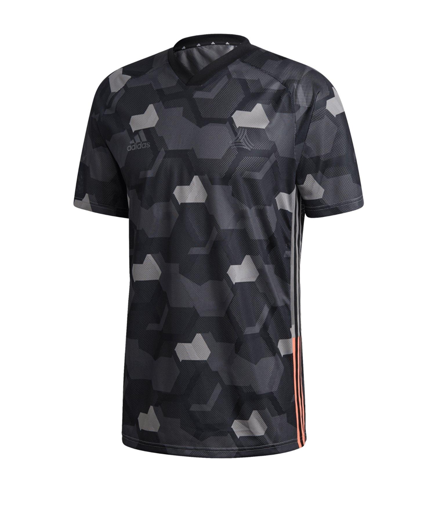 adidas Tango Shirt kurzarm Schwarz - schwarz