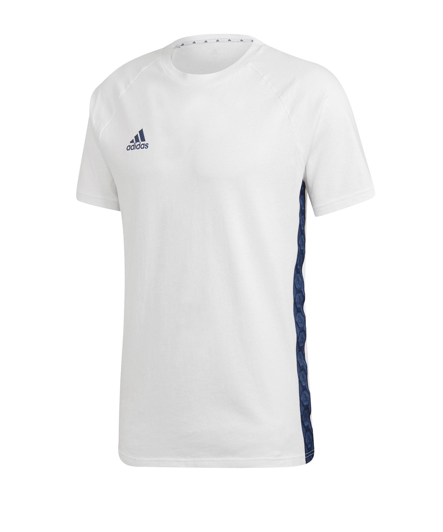 adidas Tango Tape T-Shirt Weiss - weiss