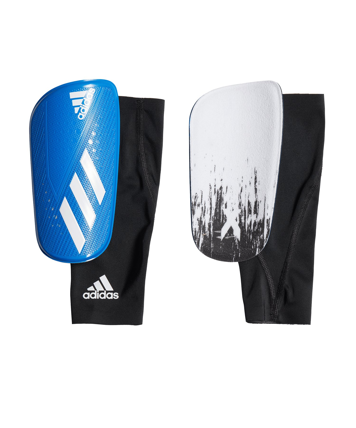 adidas X Pro Schienbeinschoner Schwarz Blau - schwarz