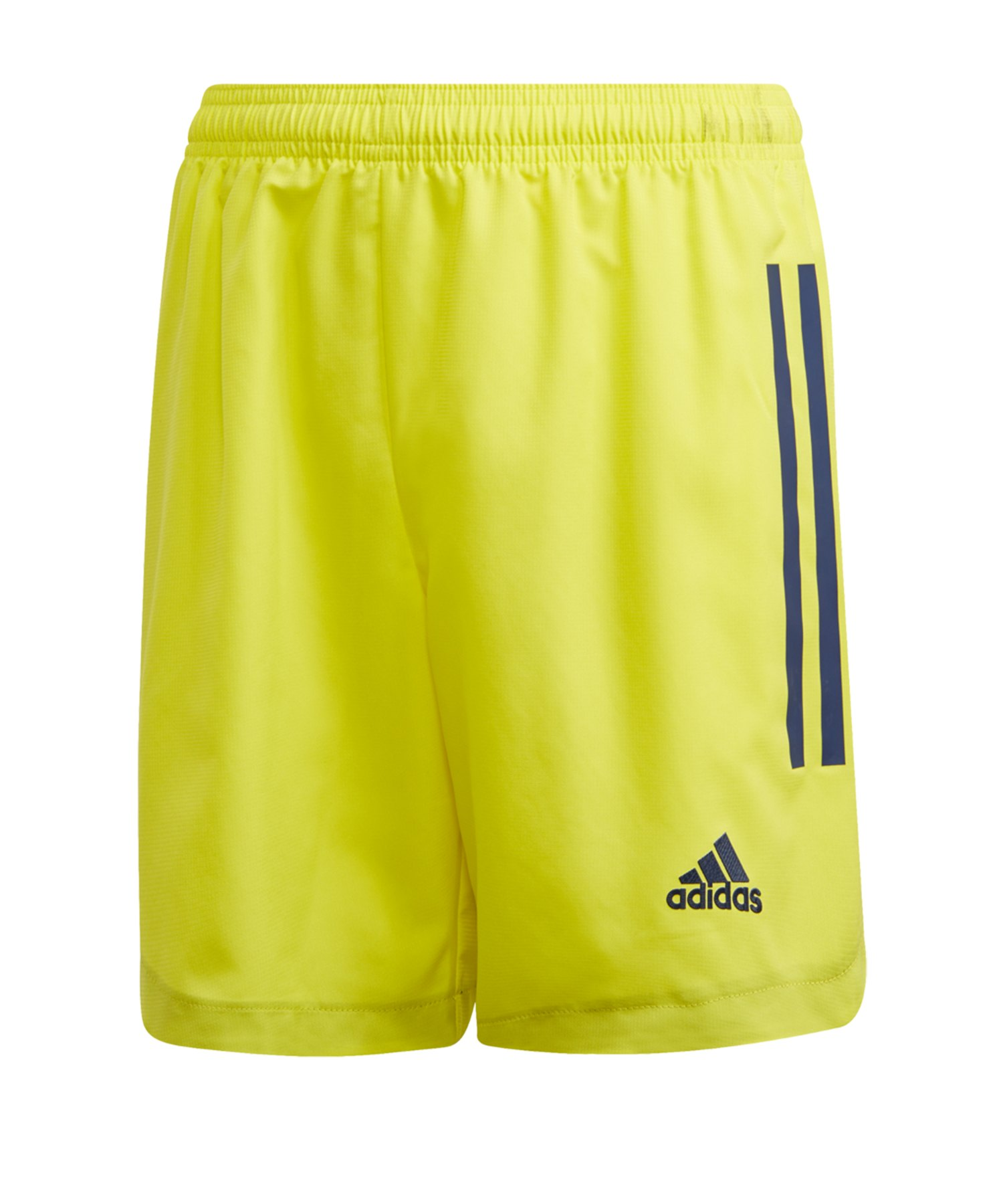 adidas Condivo 20 Short Kids Gelb Blau - gelb