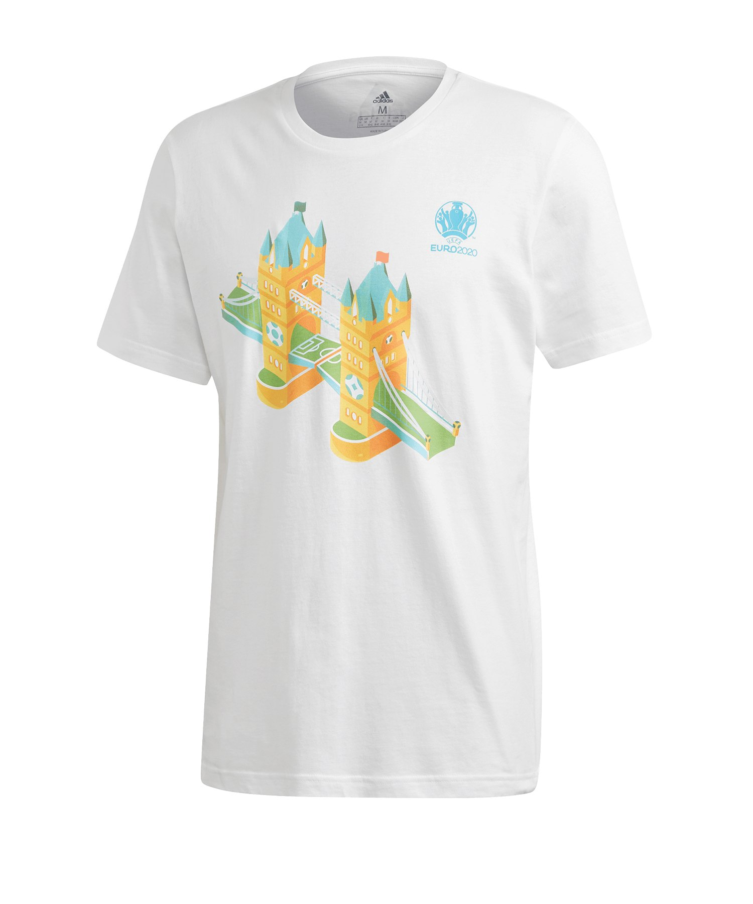 adidas EM 2020 Road to Wembley T-Shirt Weiss - weiss