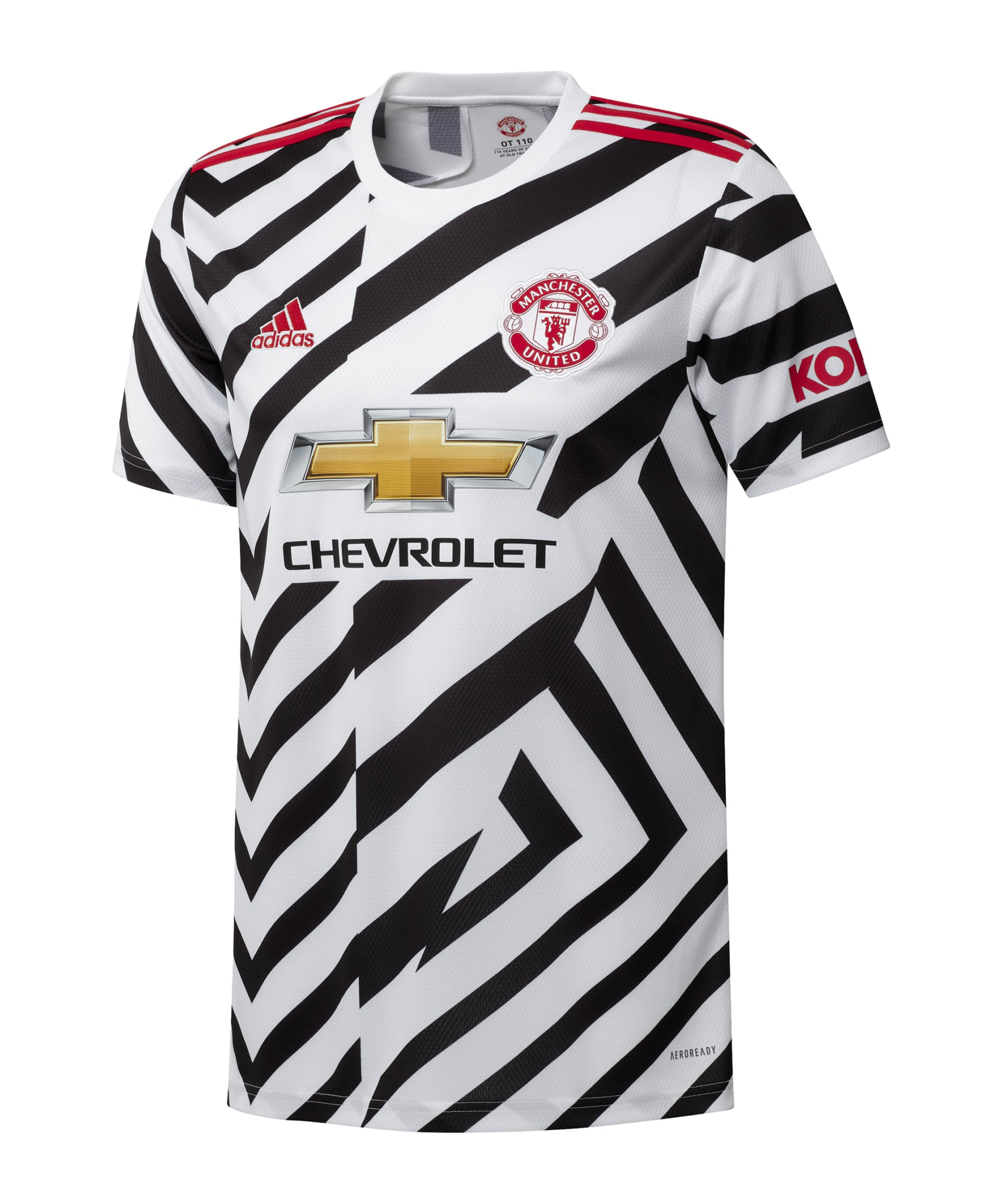adidas Manchester United Trikot UCL 2020/2021 Kids - weiss
