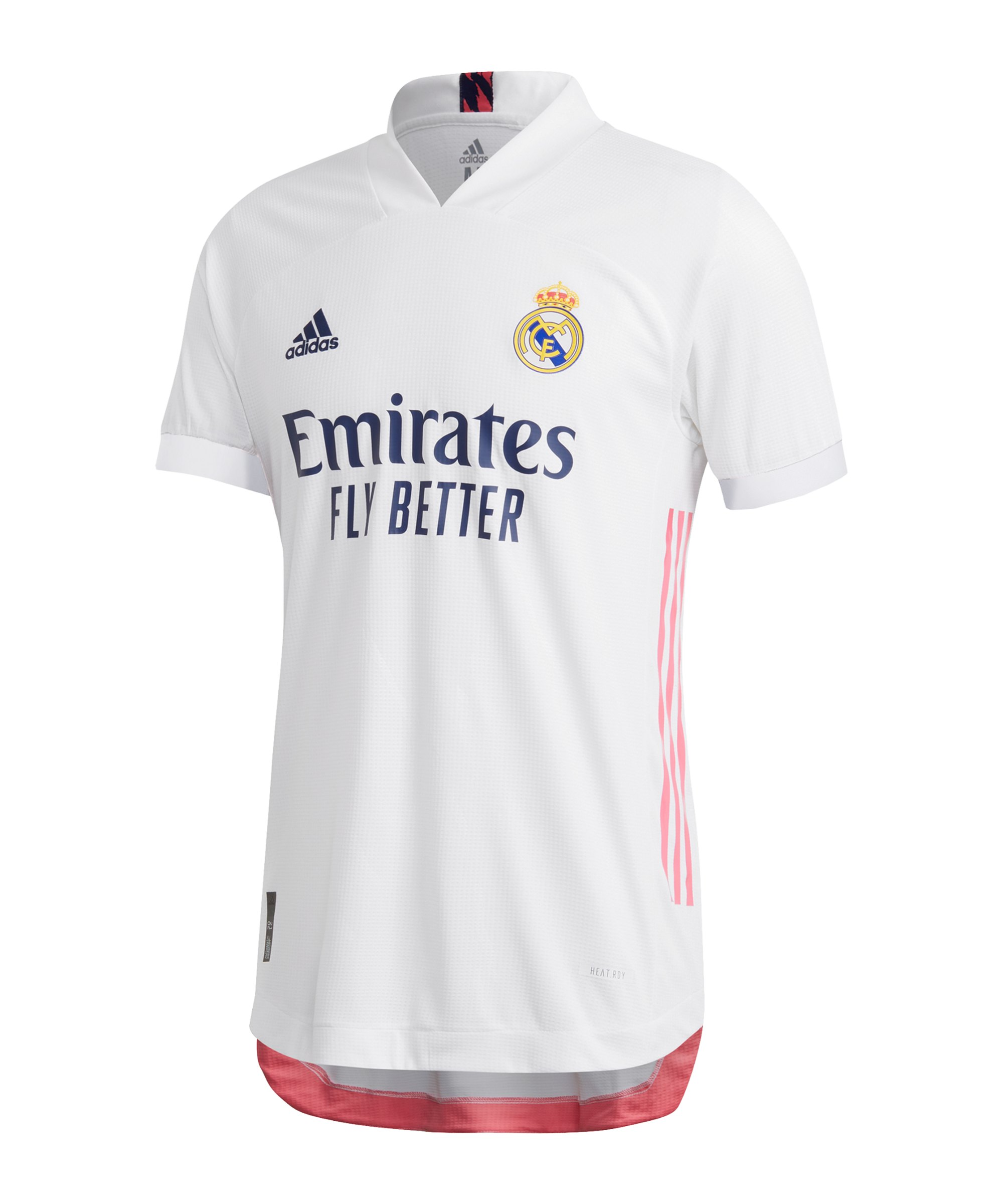 adidas Real Madrid Auth. Trikot Home 2020/2021 - weiss
