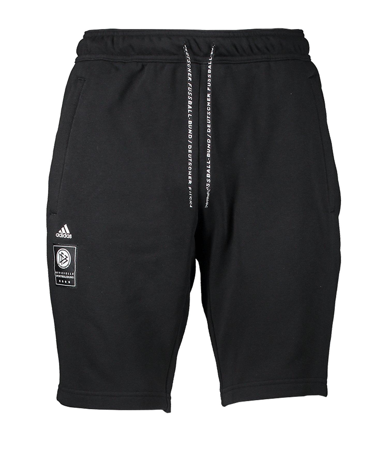 adidas DFB Deutschland Short Schwarz - schwarz