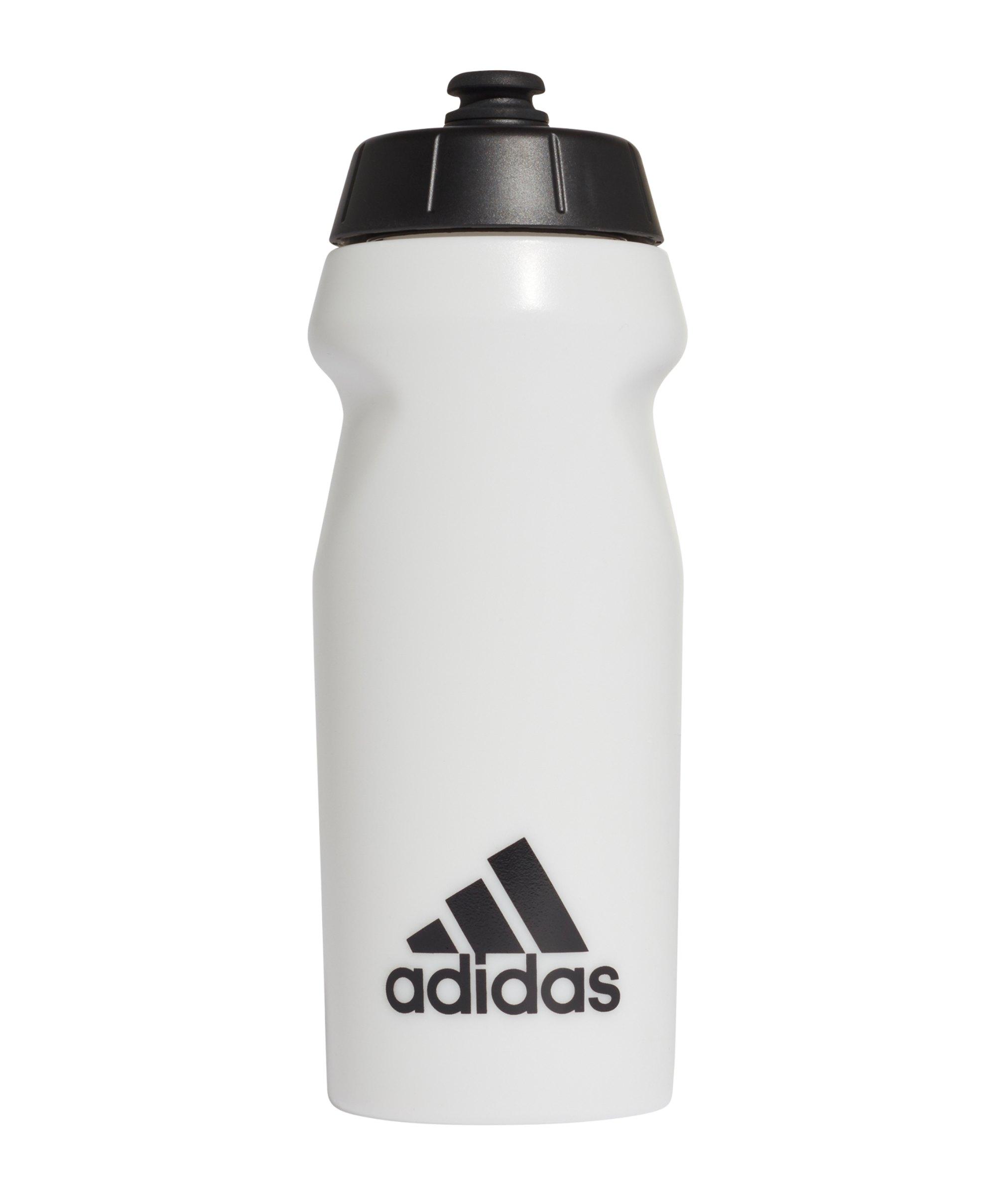 adidas Performance Trinkflasche 500ml Weiss - weiss