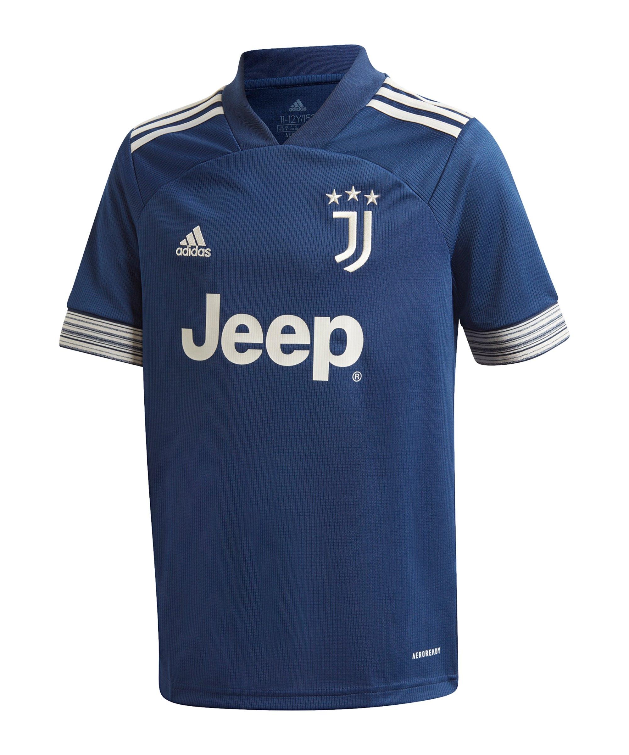 adidas Juventus Turin Trikot Away 2020/2021 Kids - blau