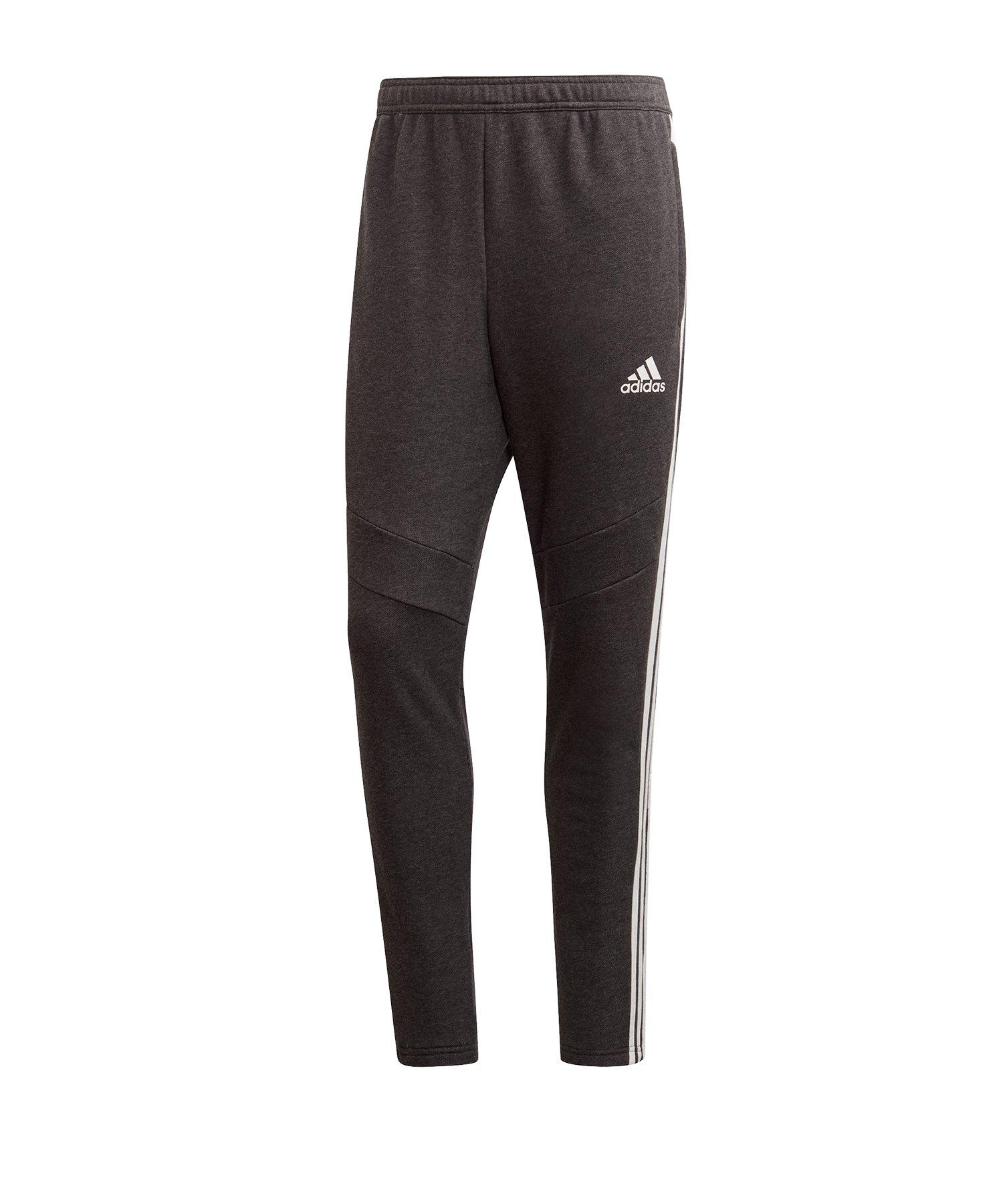 adidas Tiro 19 Jogginghose FT lang Grau - schwarz