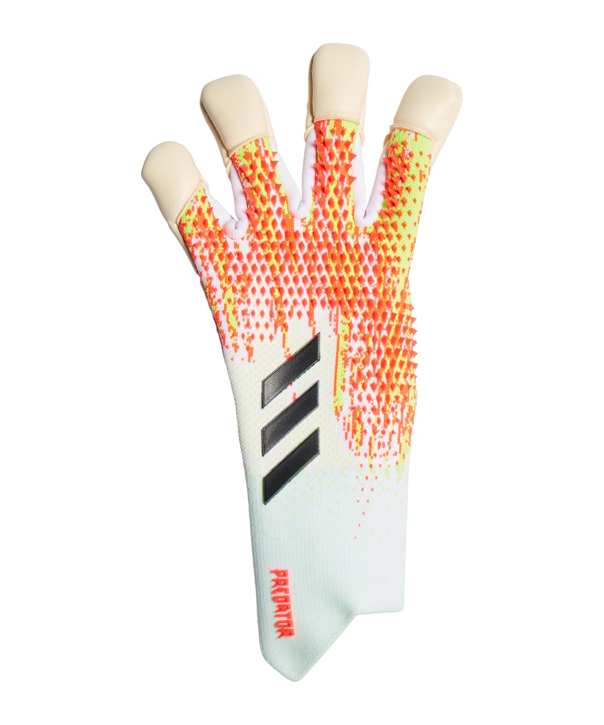 adidas Predator Uniforia Pro HYB Promo TW-Handschuh Weiss - weiss