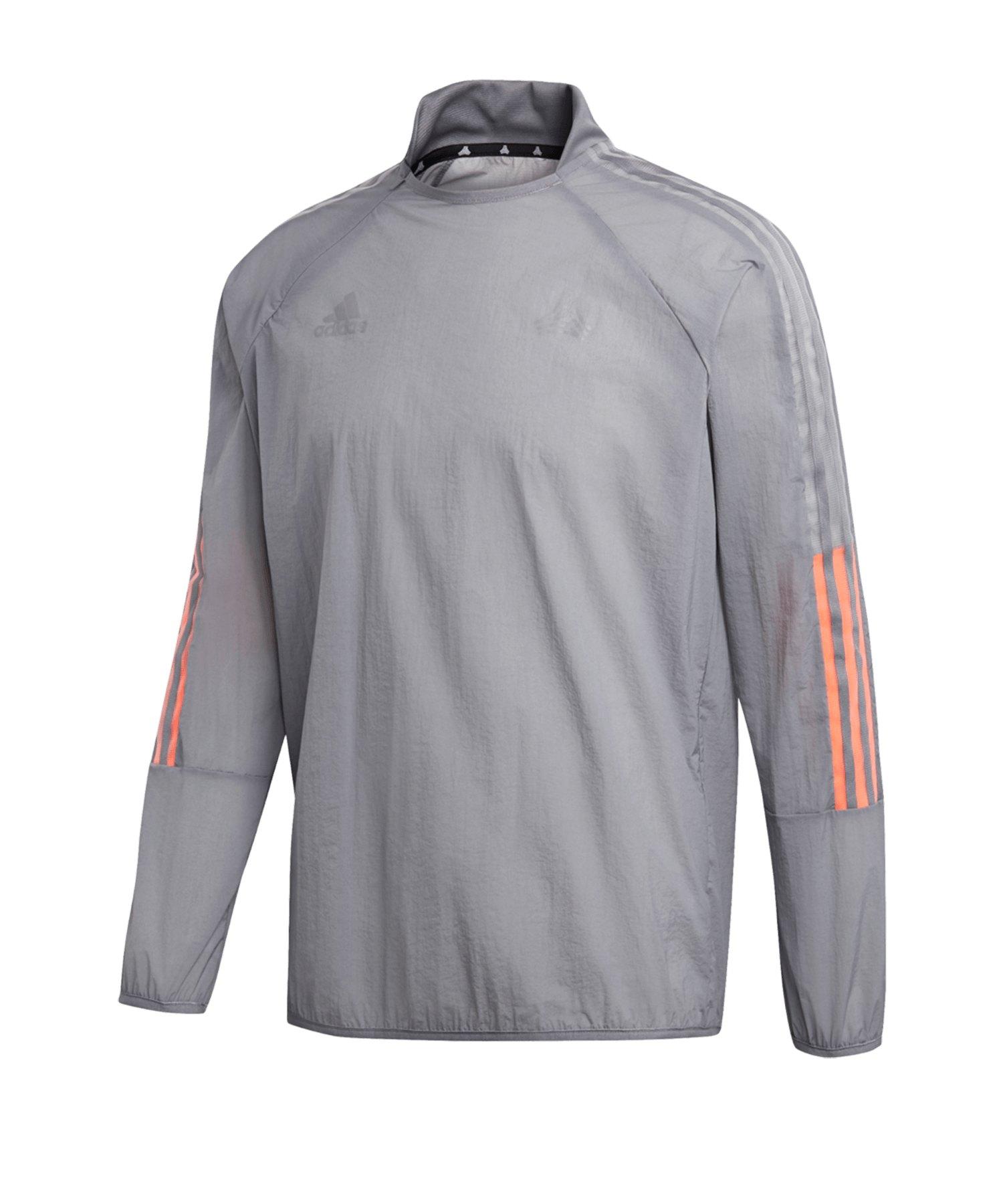 adidas Tango ADV Piste Sweatshirt Grau - grau