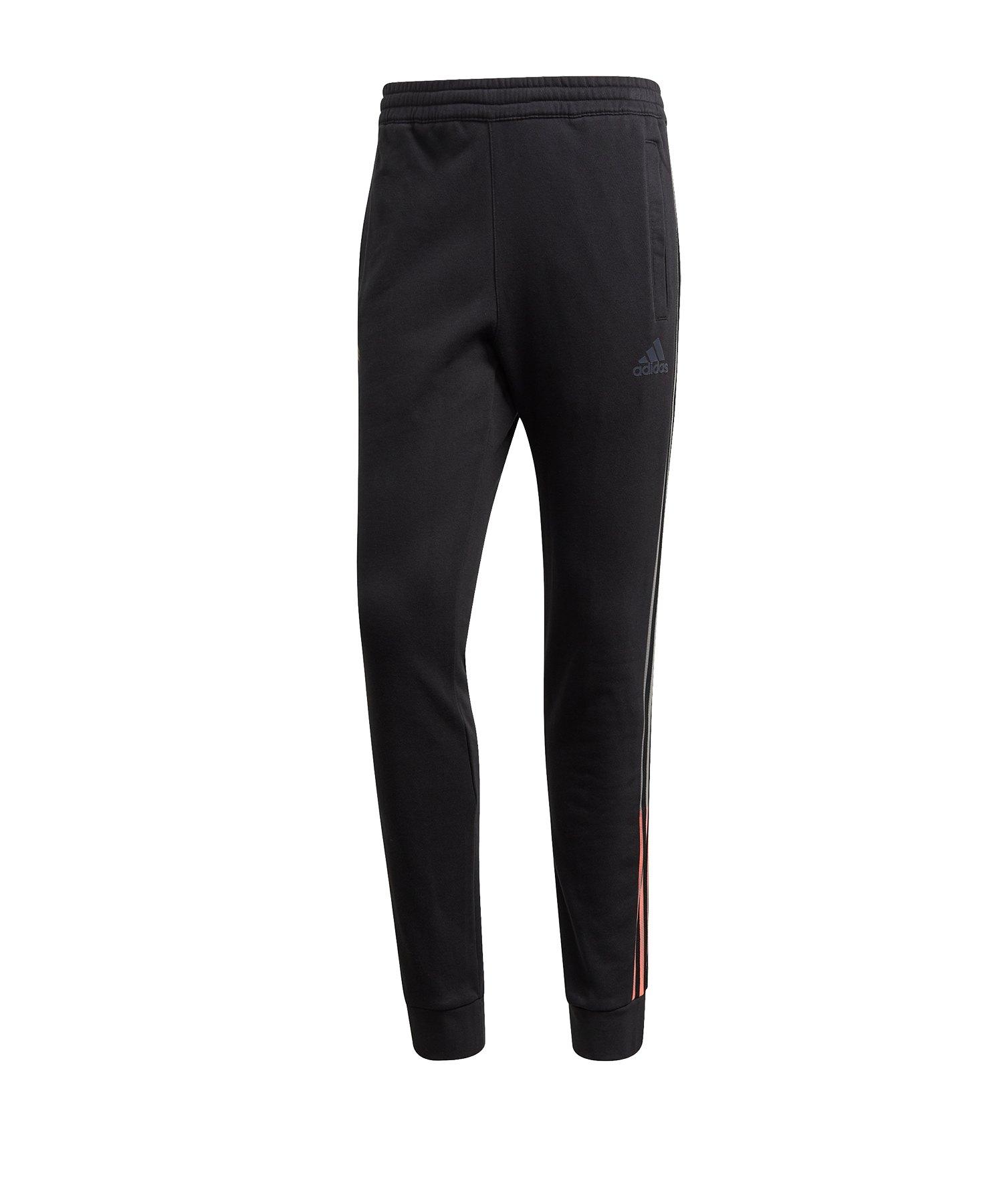 adidas Tango Sweat Jogginghose Schwarz - schwarz