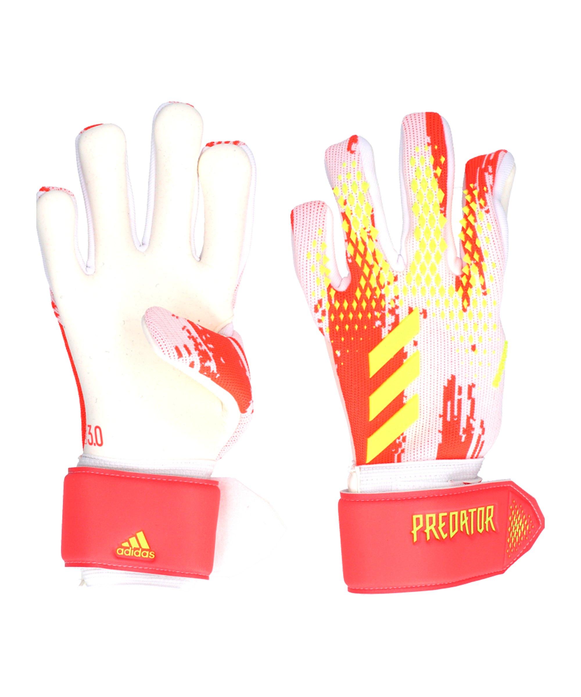 adidas Predator LGE TW-Handschuh Weiss Rosa - weiss