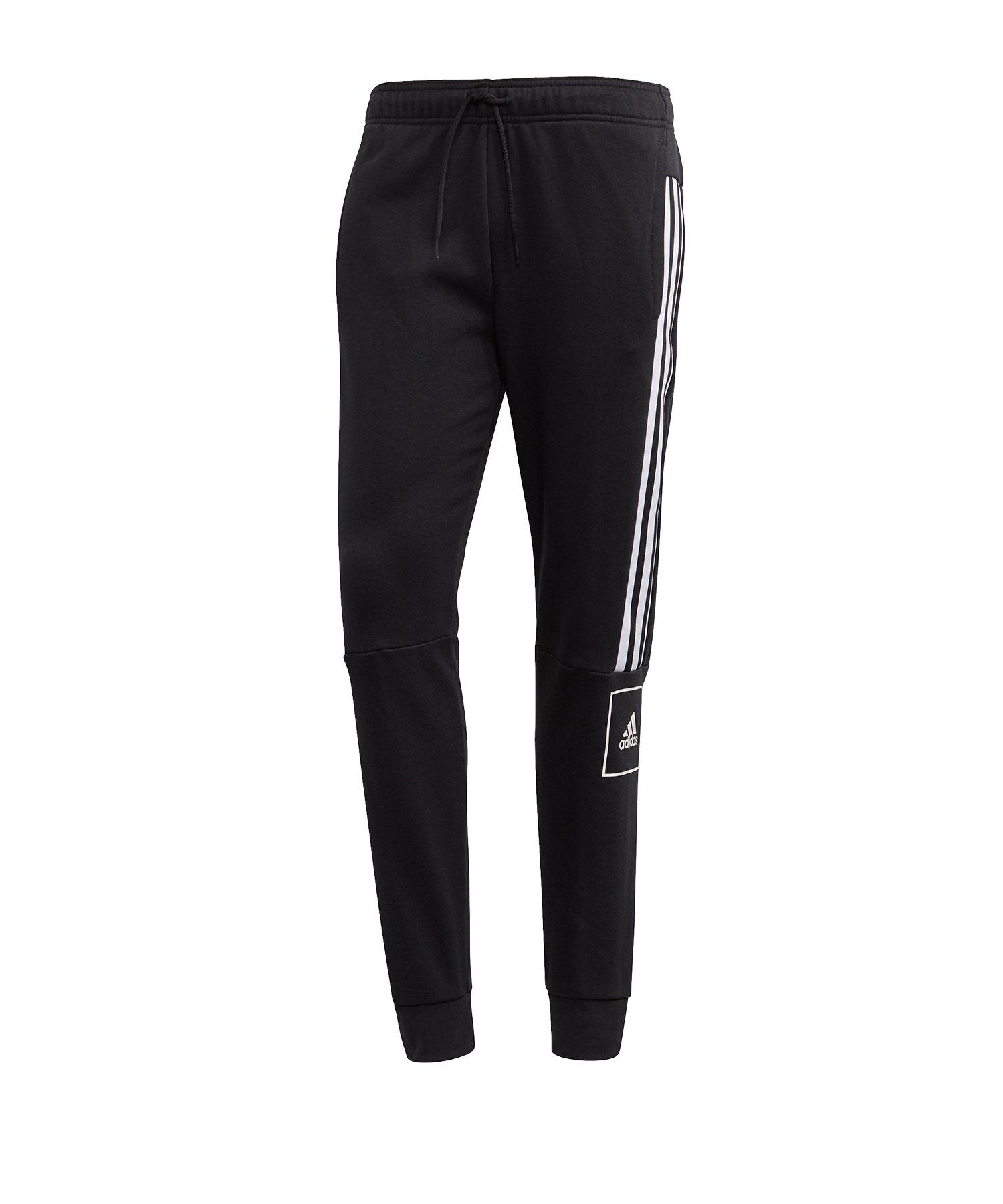 adidas 3s Pant Jogginghose lang Schwarz - schwarz