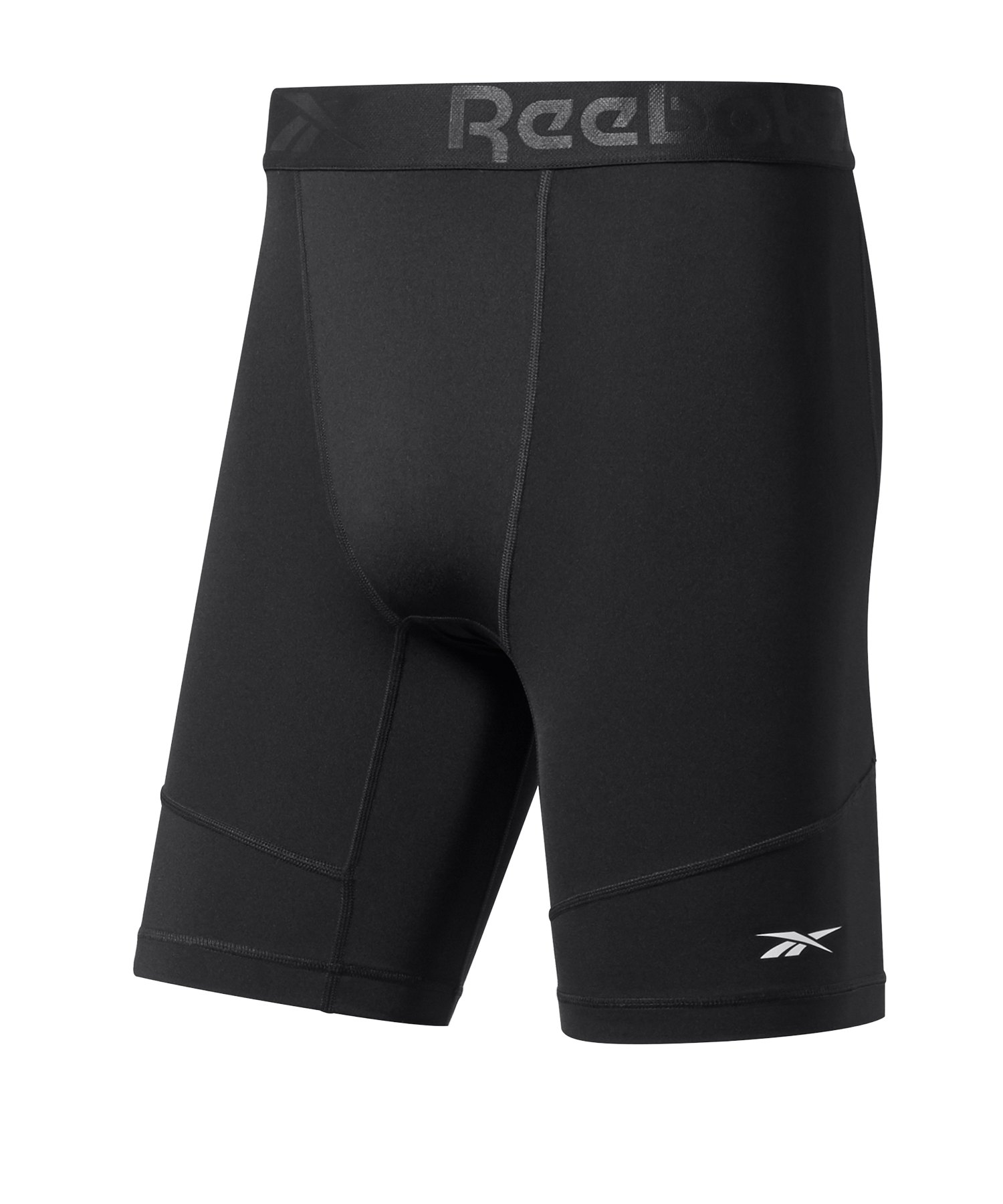 Reebok Workout Ready Compression Short Schwarz - schwarz