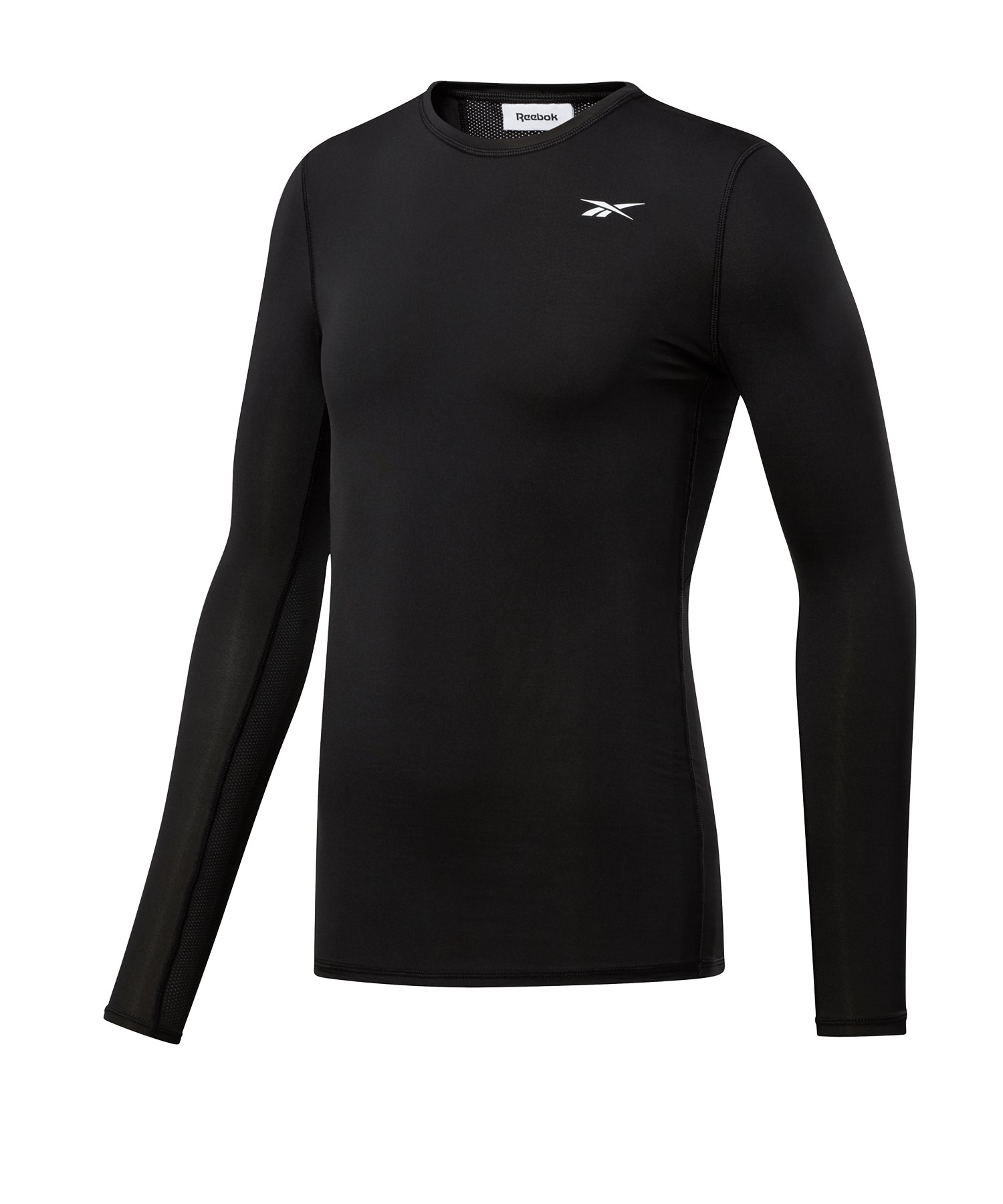 Reebok Workout Ready Compression Shirt Schwarz - schwarz
