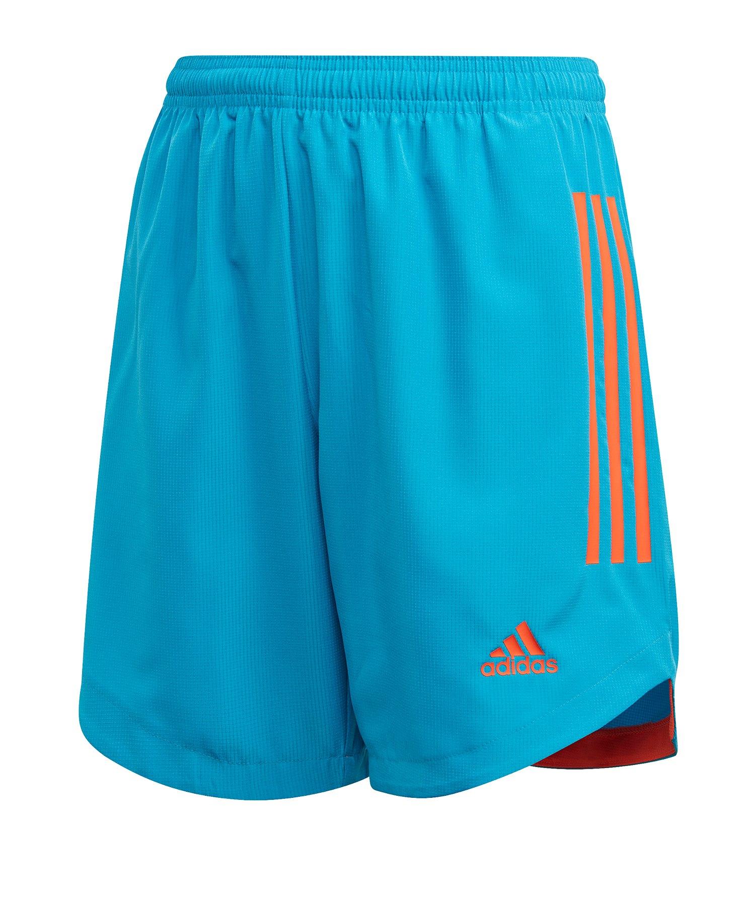 adidas Condivo 20 Short Kids Blau Orange - blau