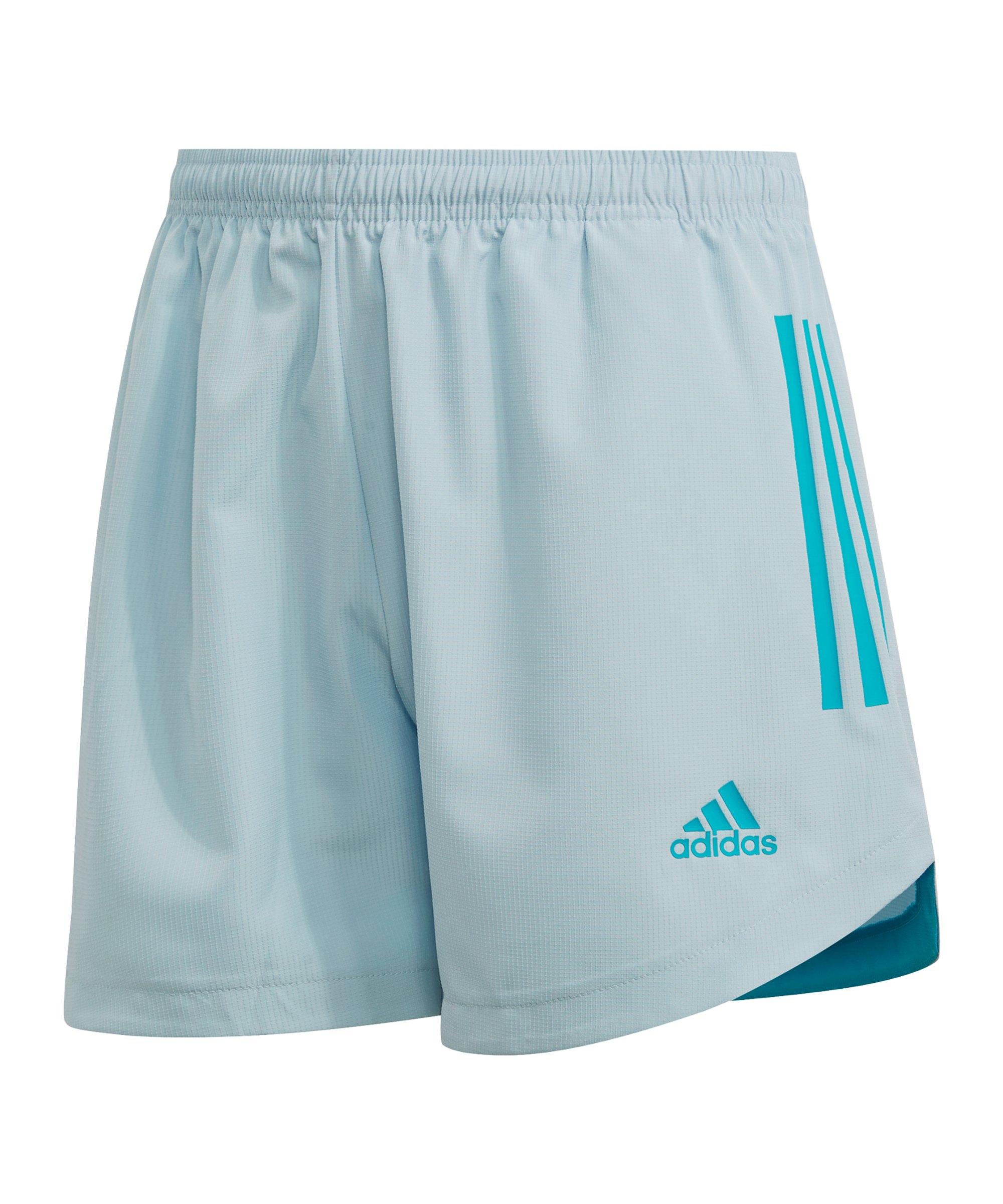 adidas Condivo 20 PB Short Damen Hellblau - blau