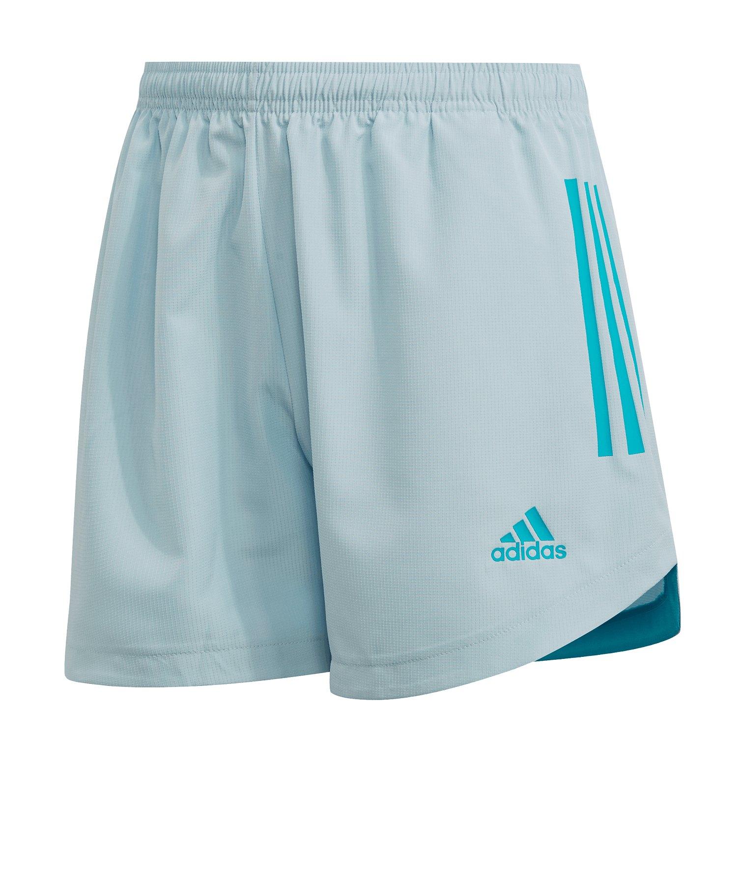 adidas Condivo 20 PB Short lang Damen Hellblau - blau