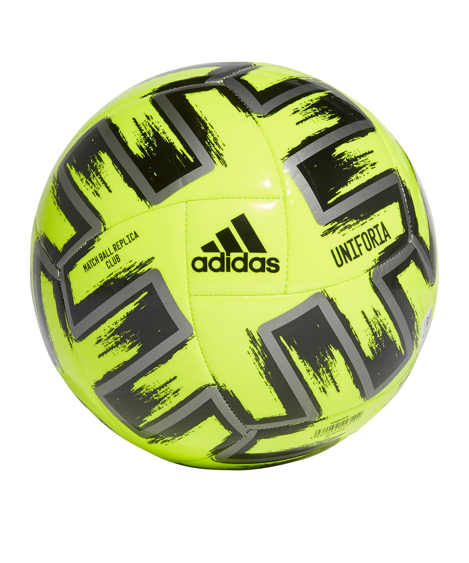 adidas Club Uniforia Trainingsball Gelb - gelb