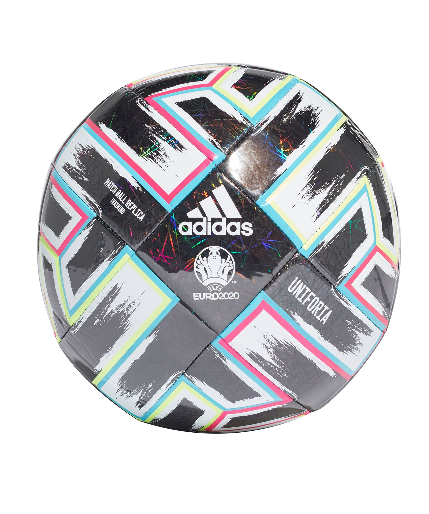 adidas TRN Uniforia Trainingsball Schwarz - schwarz