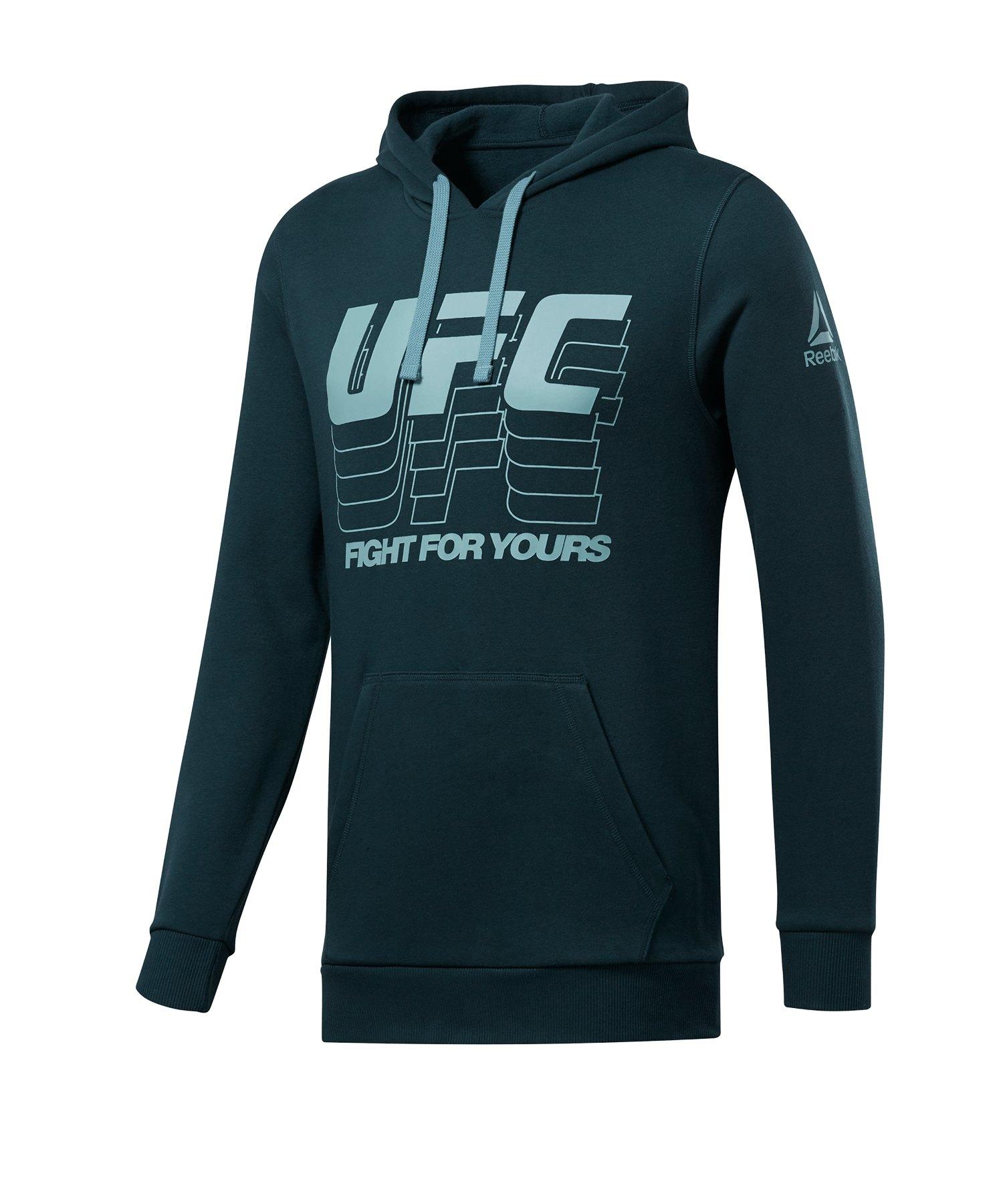 Reebok UFC FG Hoody Grün - gruen