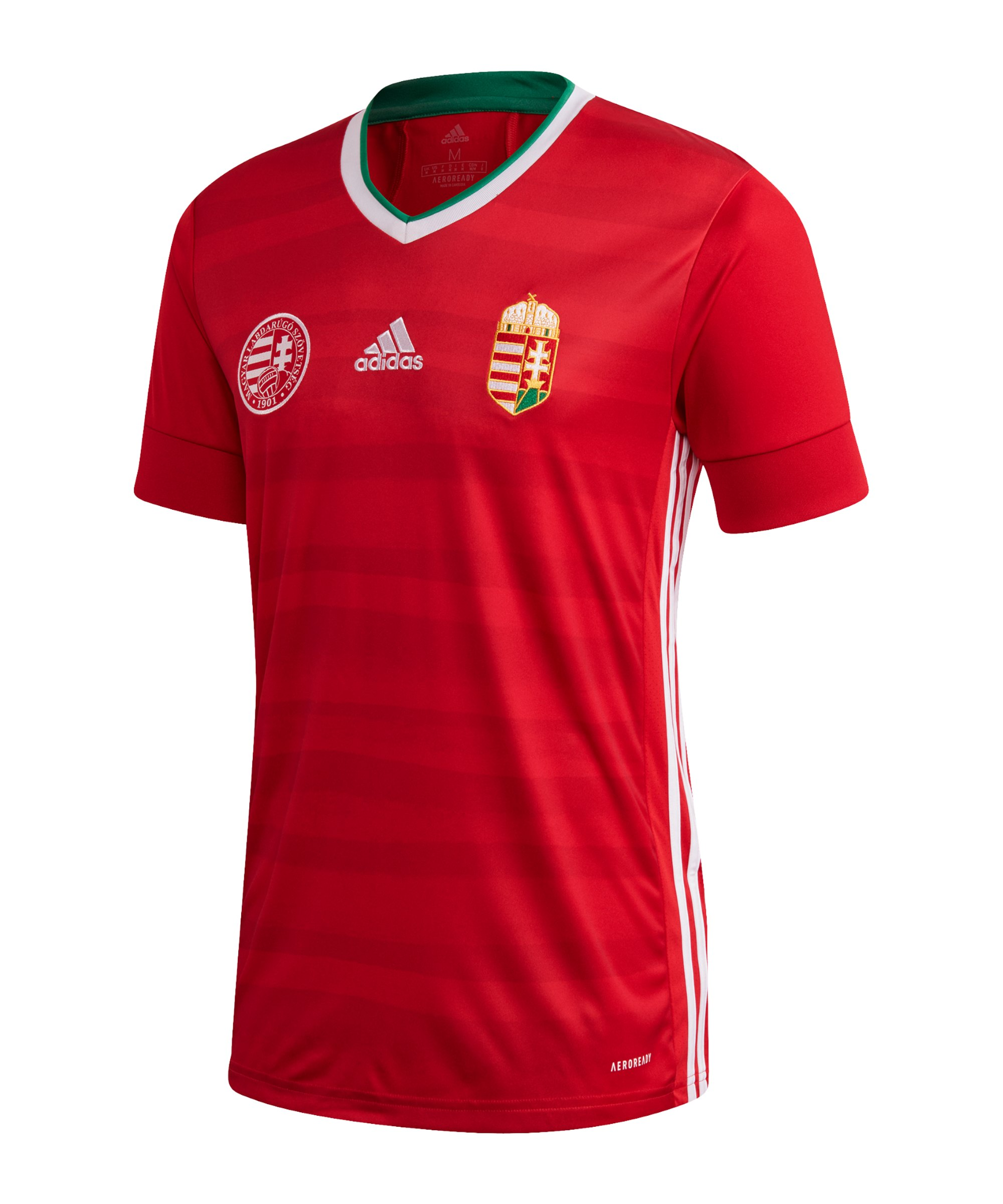 adidas Ungarn Trikot Home EM 2020 Rot - rot