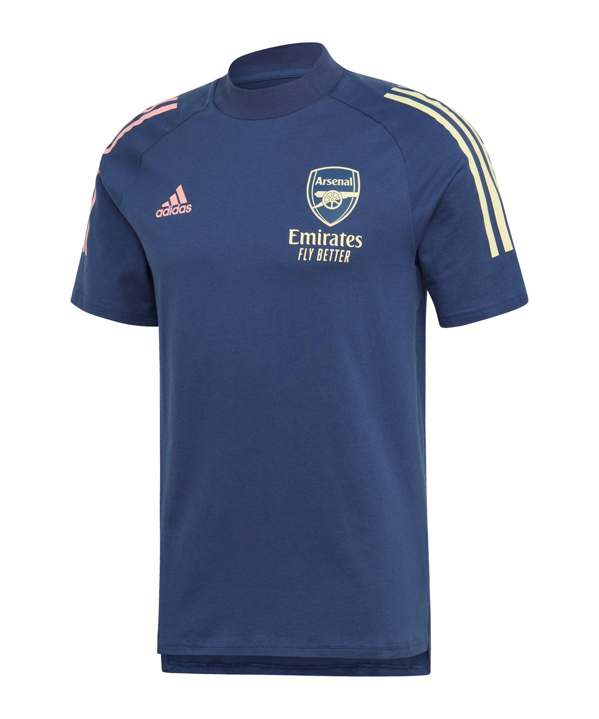adidas FC Arsenal London T-Shirt Blau - blau