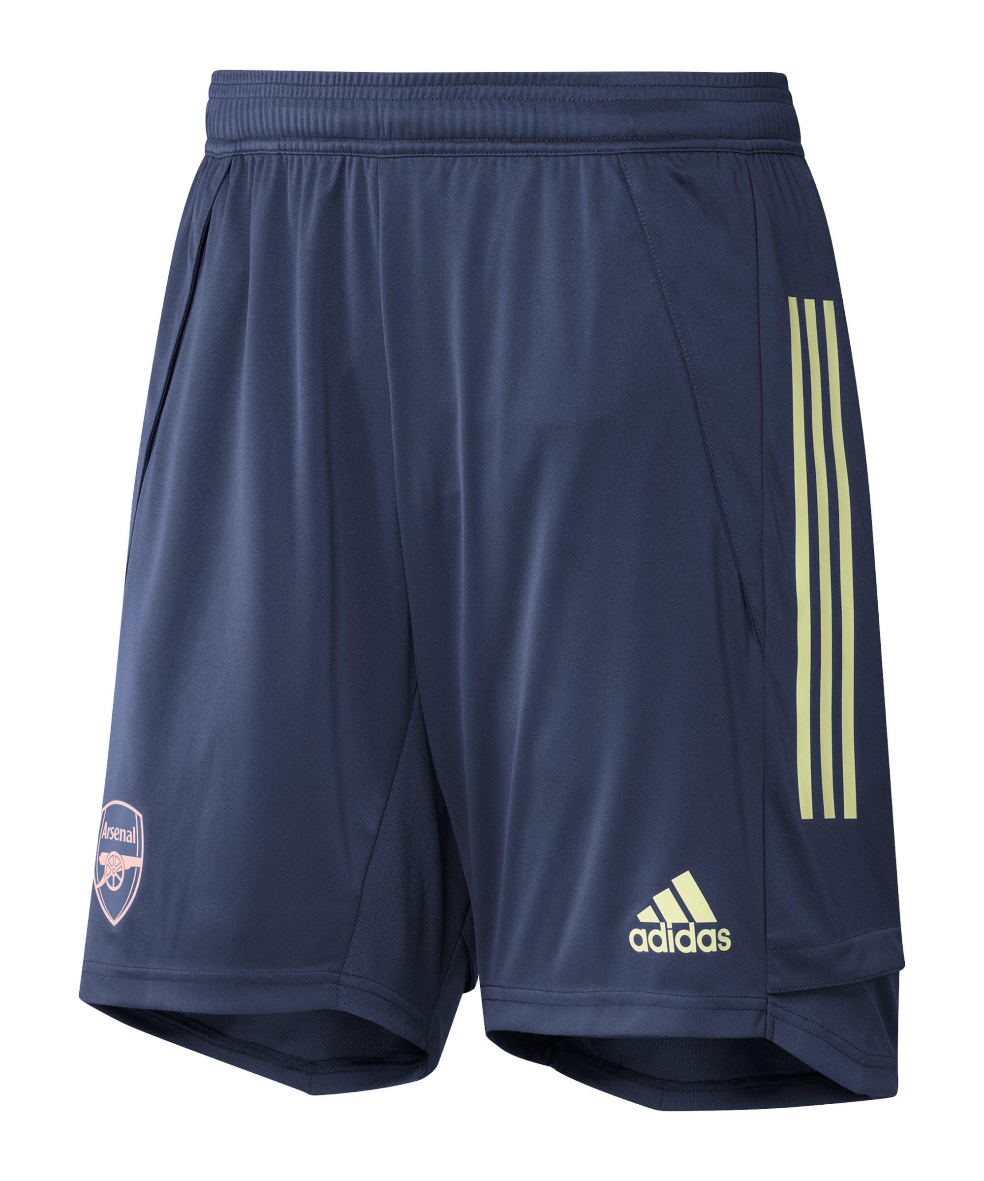 adidas FC Arsenal London Trainingsshort Blau - blau