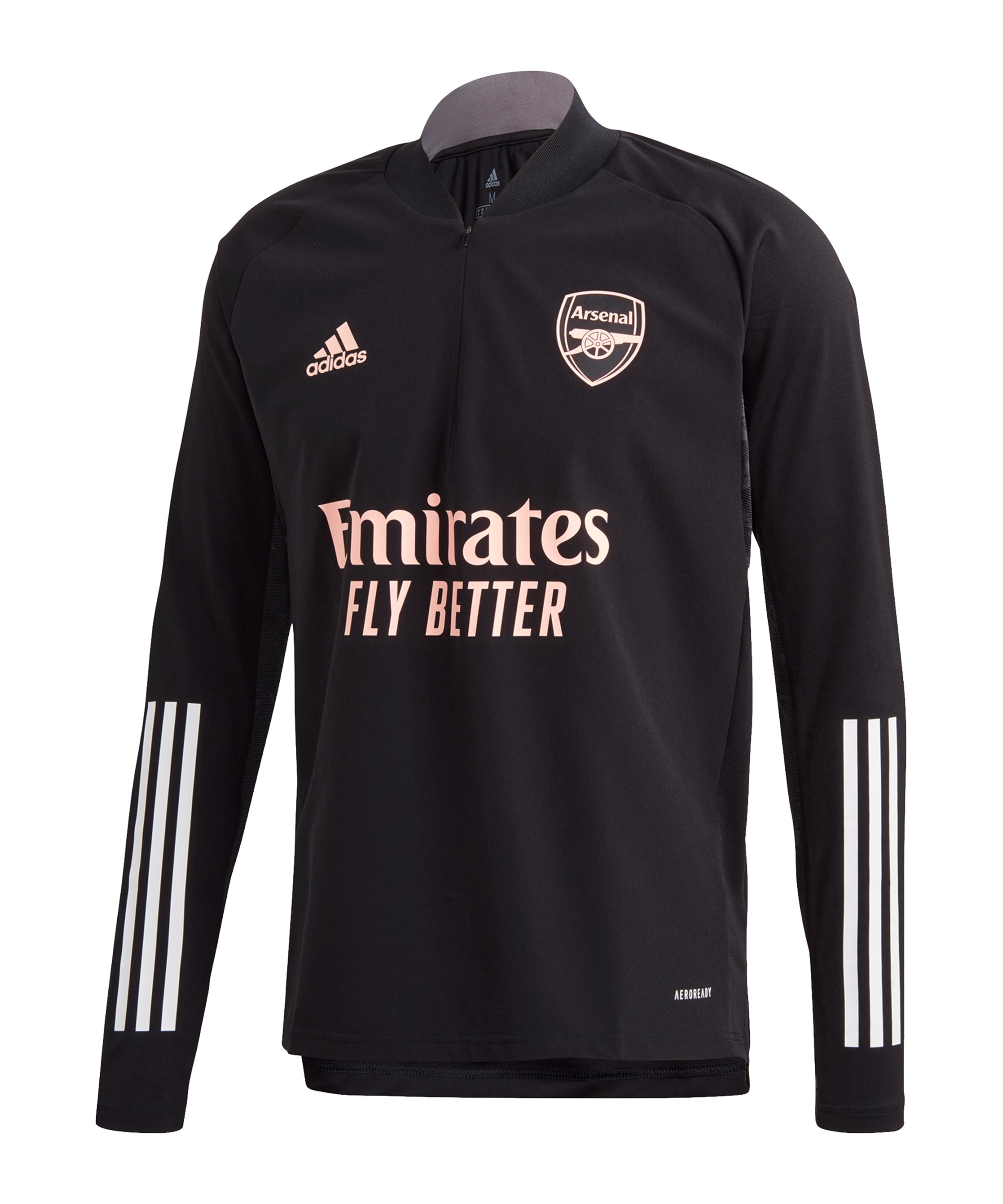 adidas FC Arsenal London UCL Warmtop Schwarz - schwarz