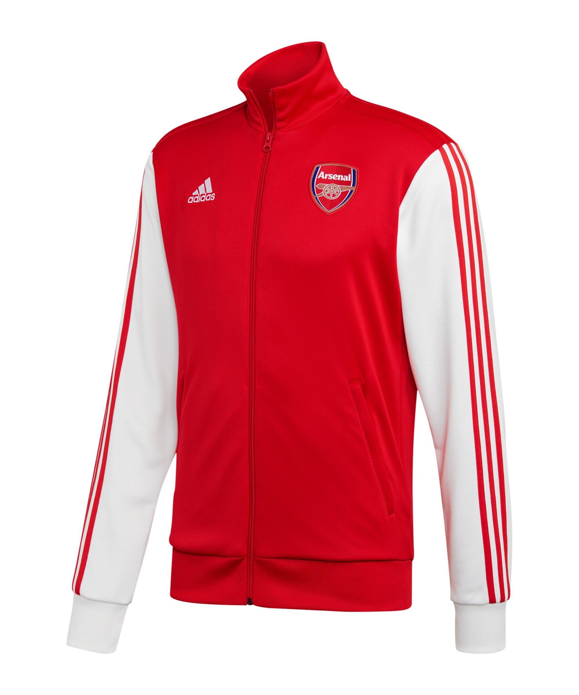 adidas FC Arsenal London 3S Trainingsjacke Rot - rot