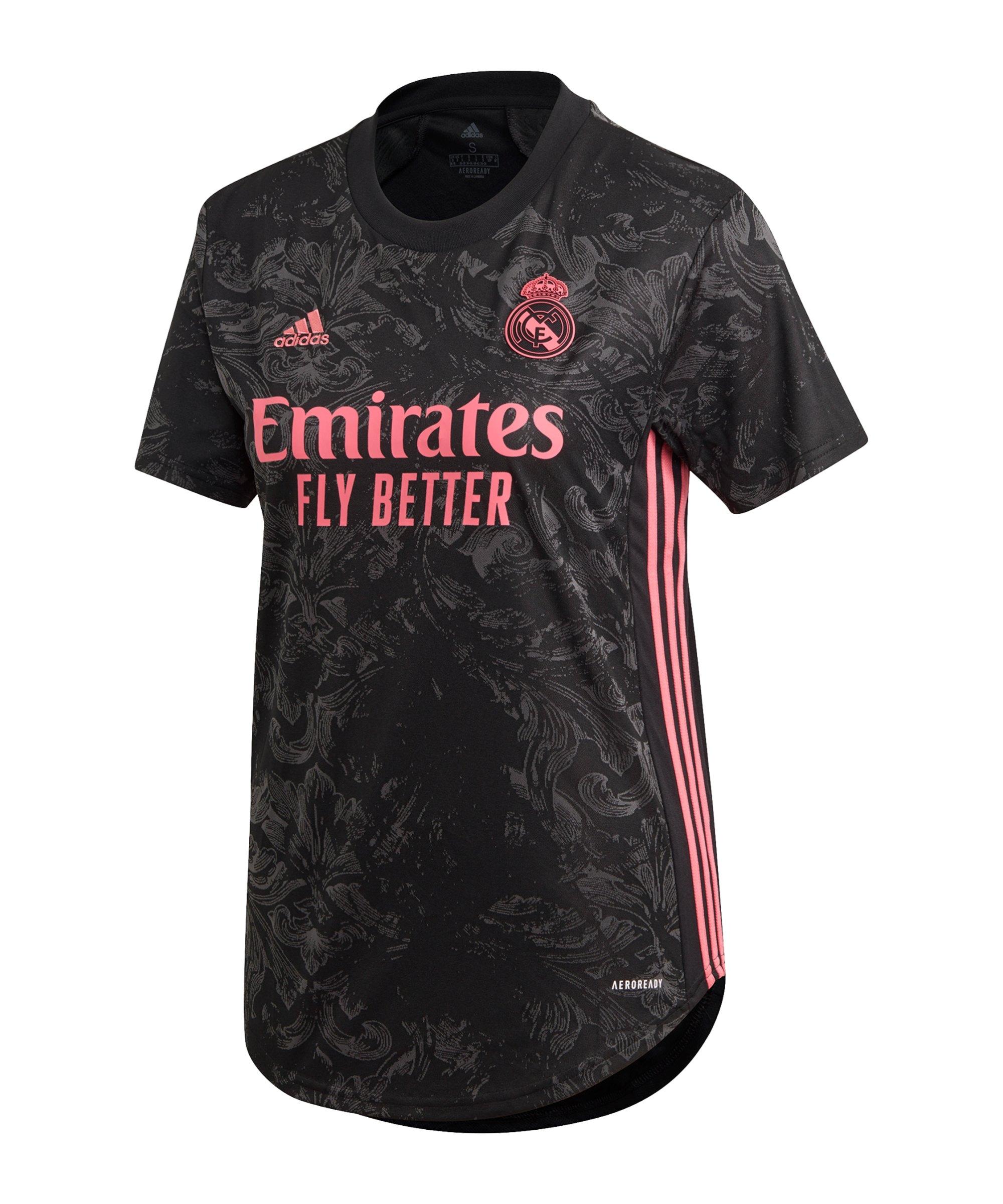 adidas Real Madrid Trikot 3rd 2020/2021 Damen - schwarz