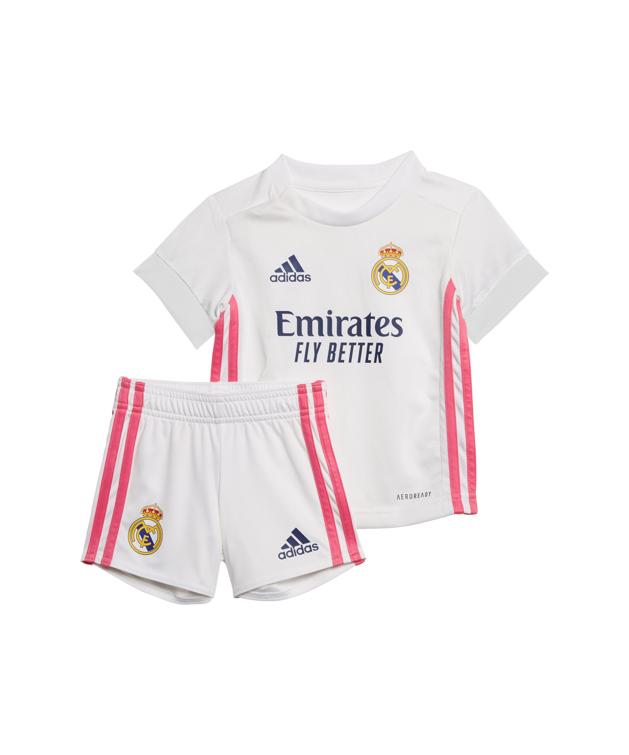 adidas Real Madrid Babykit Home 2020/2021 Weiss - weiss