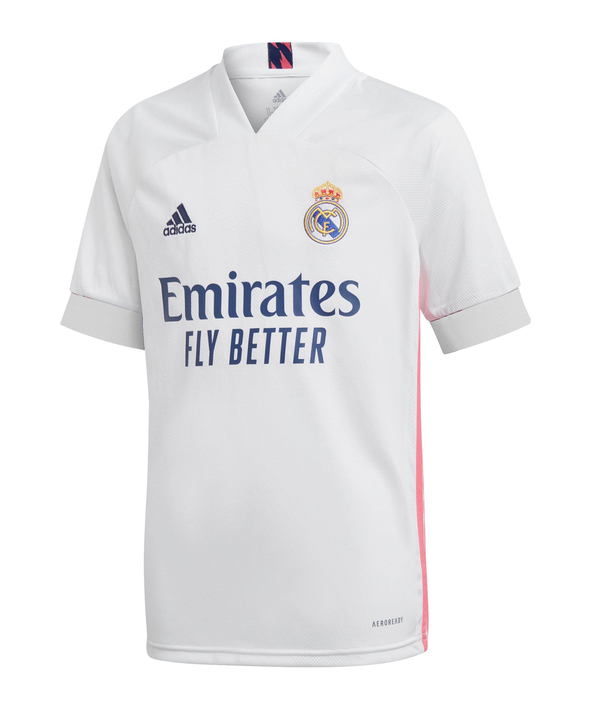 adidas Real Madrid Trikot Home 2020/2021 Kids - weiss