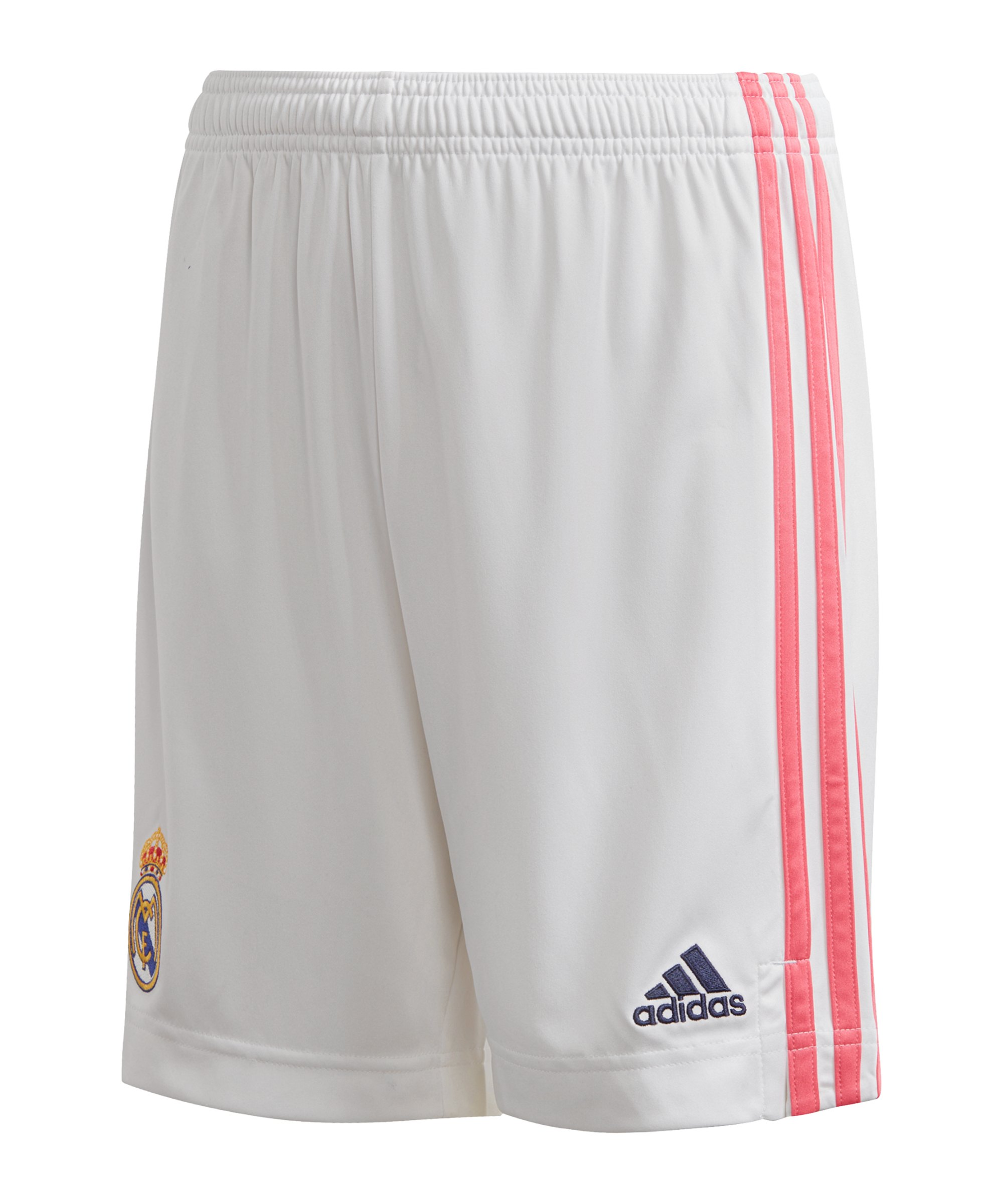 adidas Real Madrid Short Home 2020/2021 Kids Weiss - weiss