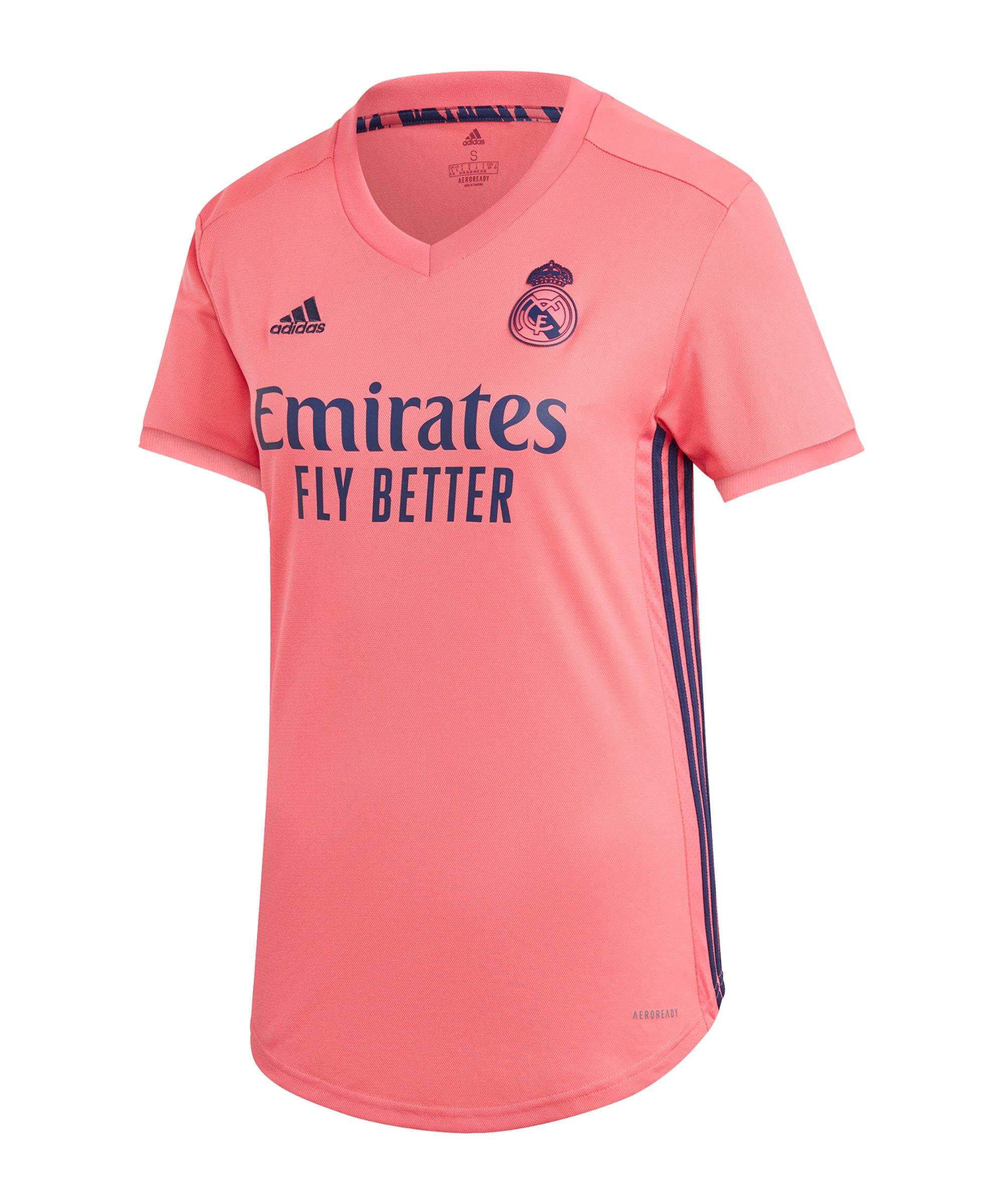 adidas Real Madrid Trikot Away 2020/2021 Damen - pink