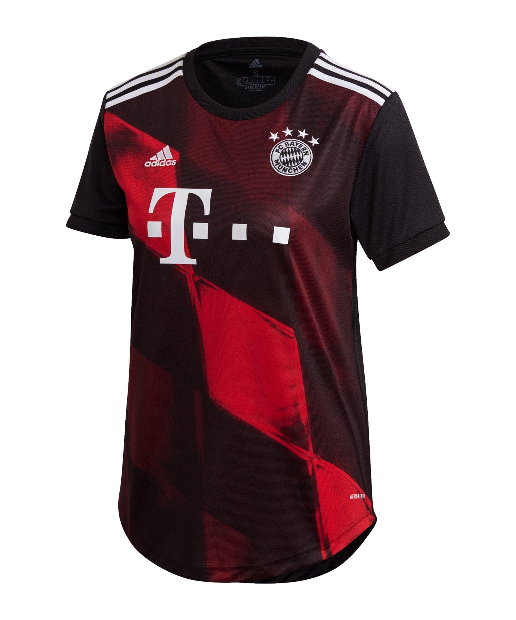 adidas FC Bayern München Trikot UCL Damen 20/21 - schwarz