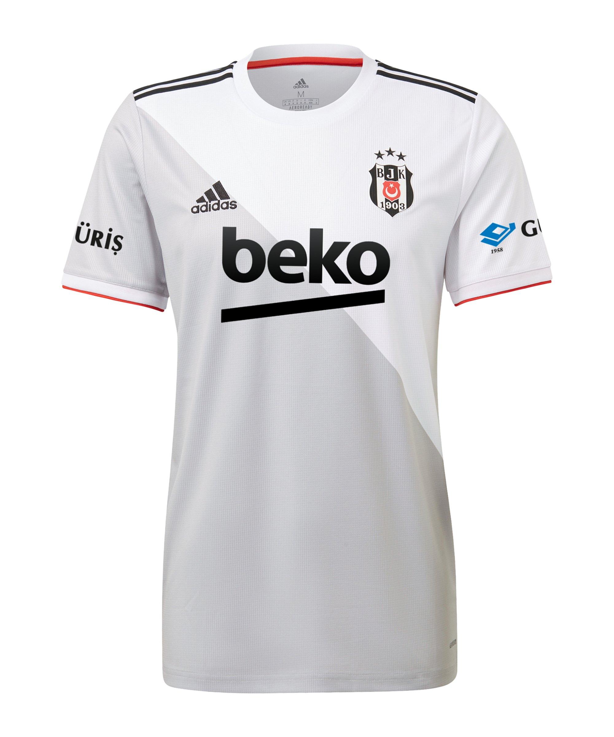 adidas Besiktas Istanbul Trikot Home 2020/2021 - weiss