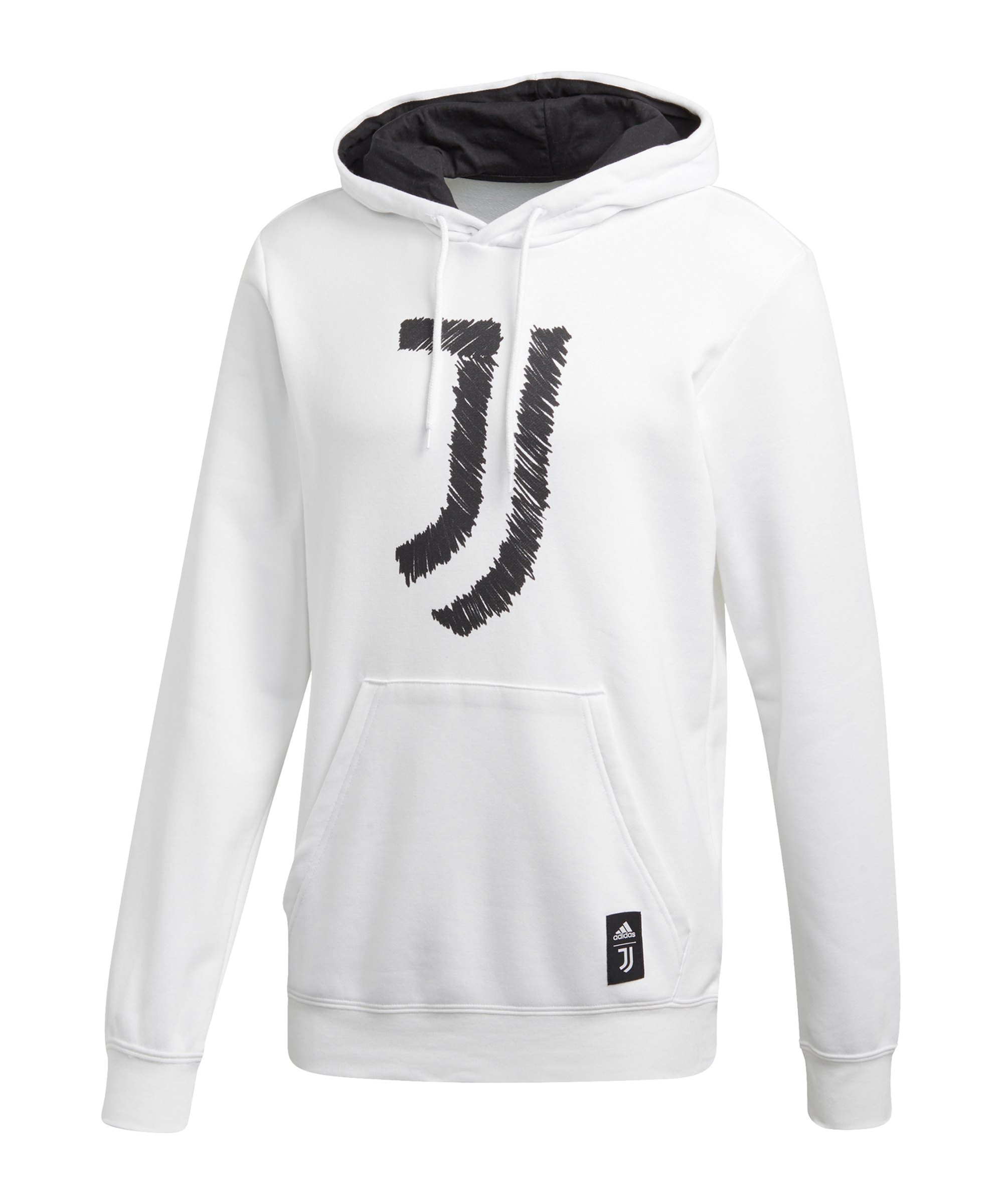 adidas Juventus Turin DNA Graphic Hoody Weiss - weiss
