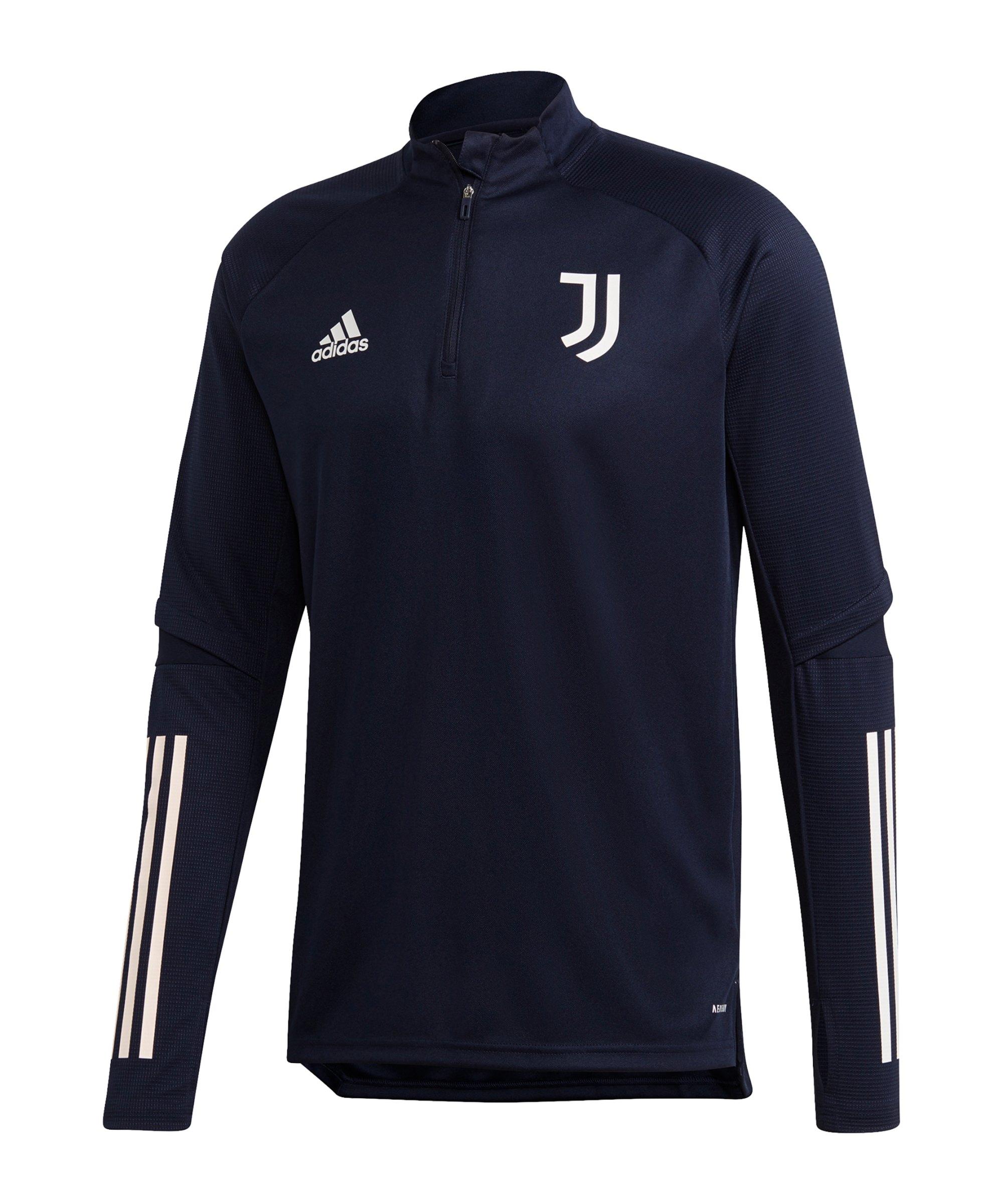 adidas Juventus Turin Trainingstop Blau Grau - blau