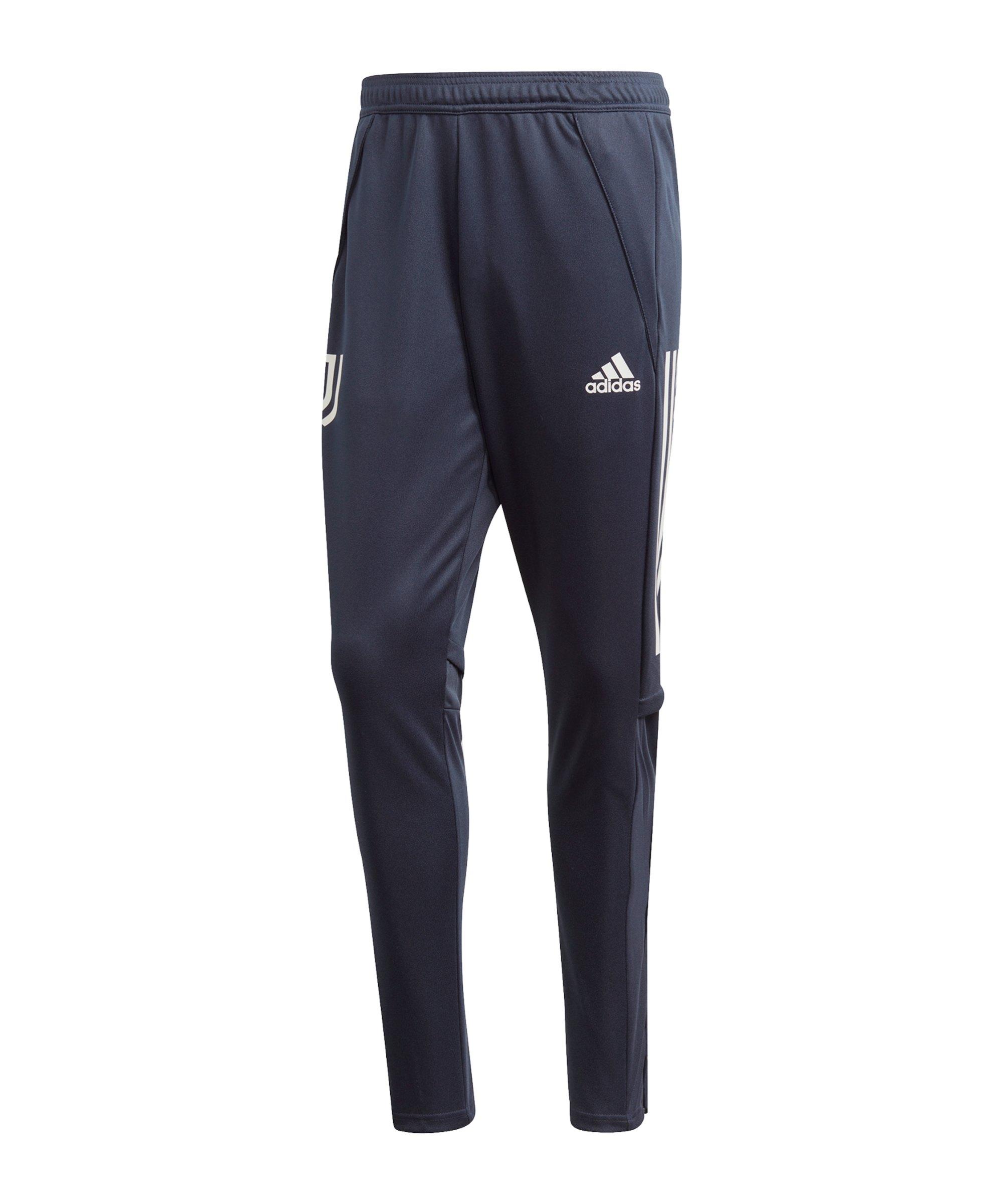 adidas Juventus Turin Trainingshose Blau Grau - blau