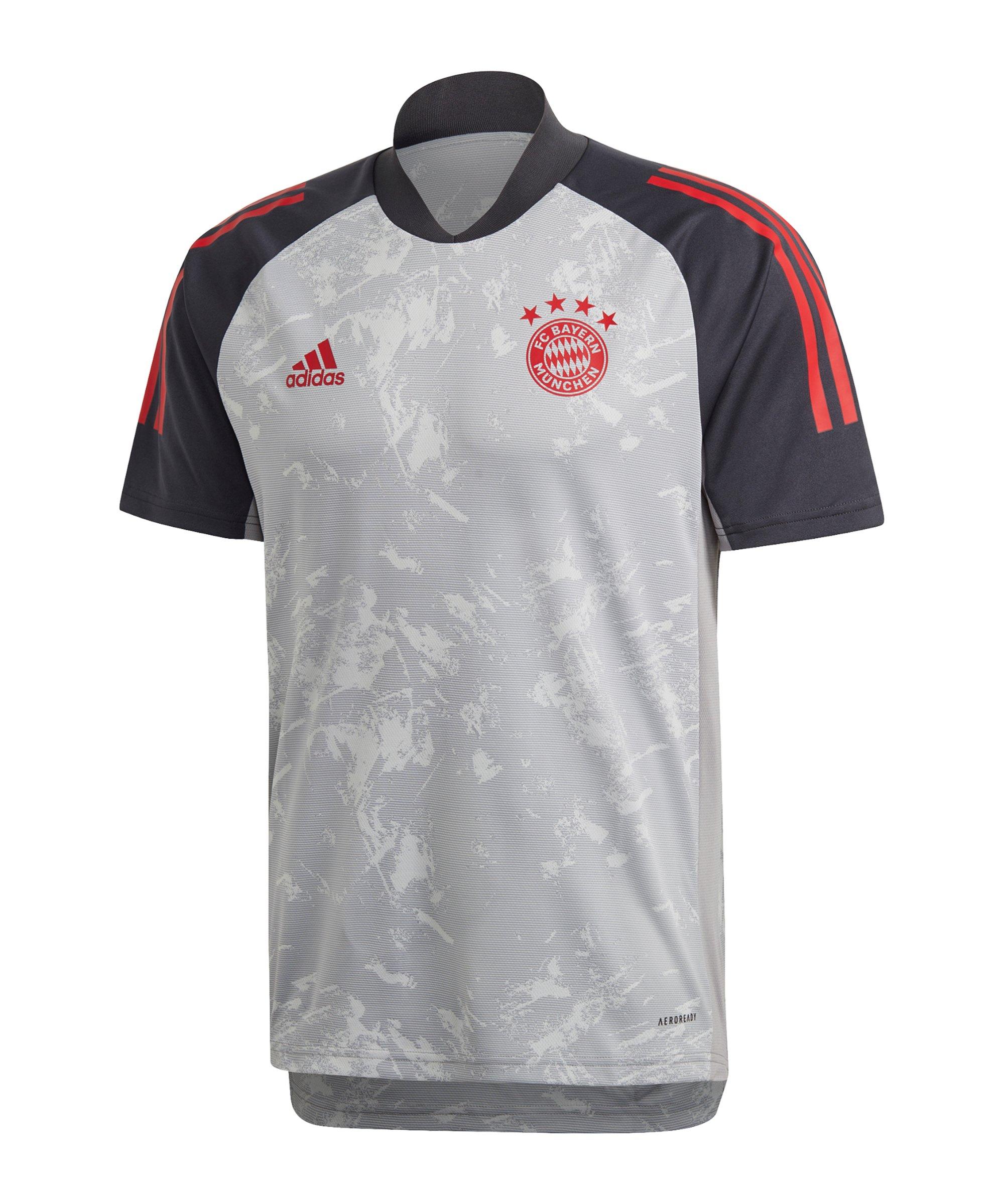 adidas FC Bayern München UCL Trainingsshirt Grau - grau