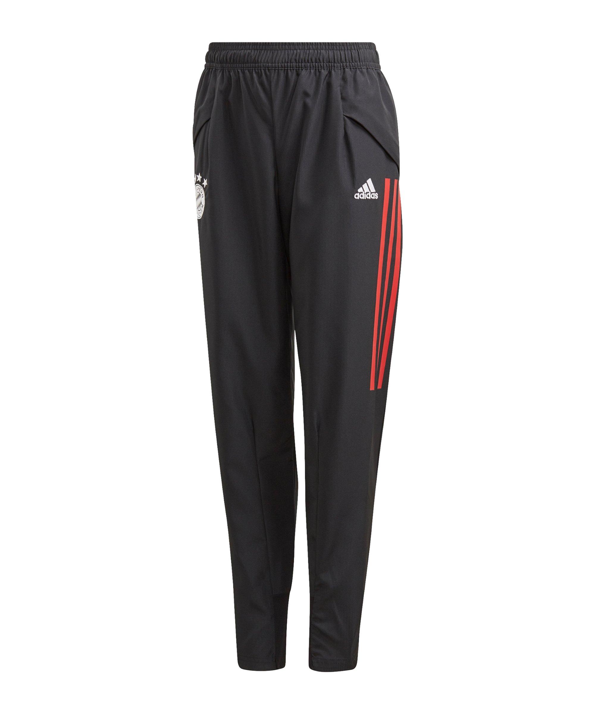 adidas FC Bayern München Präsentationshose Kids - schwarz