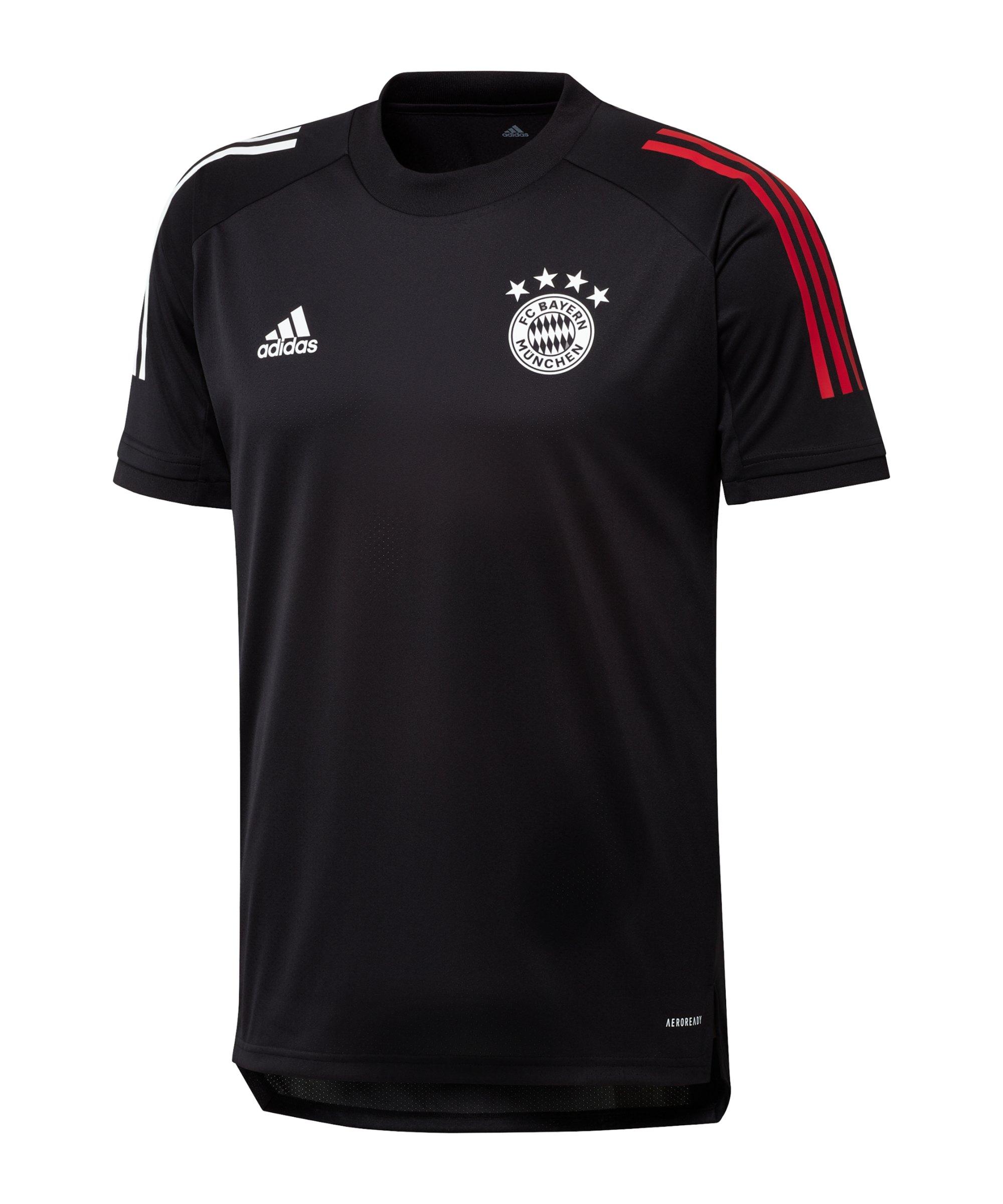 adidas FC Bayern München Trainingsshirt Schwarz - schwarz