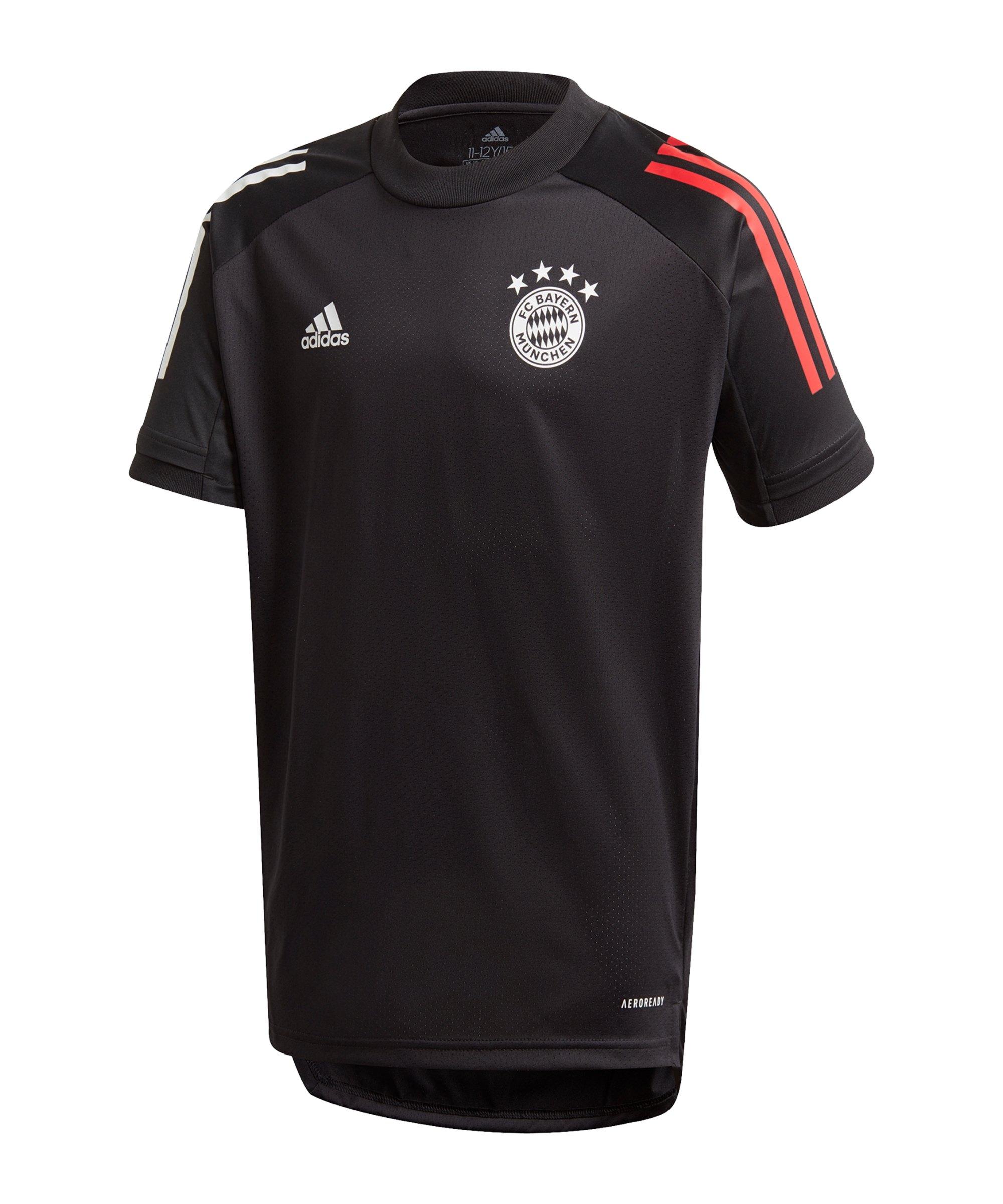 adidas FC Bayern München Trainingsshirt Kids - schwarz