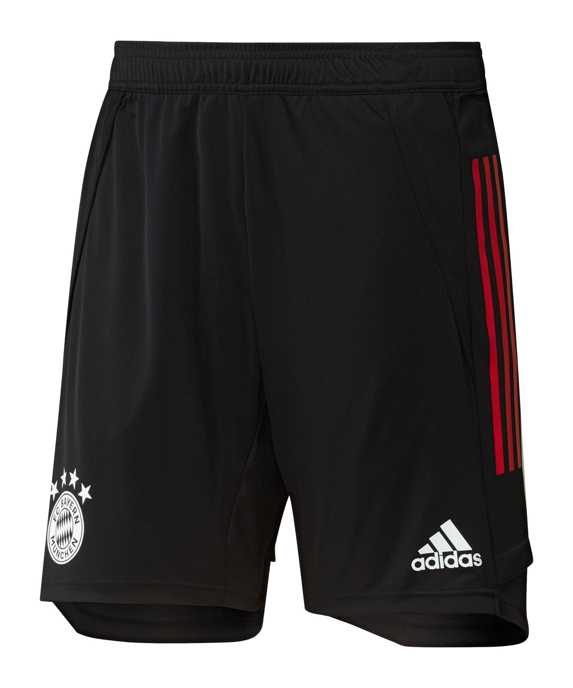 adidas FC Bayern München Trainingsshort Schwarz - schwarz