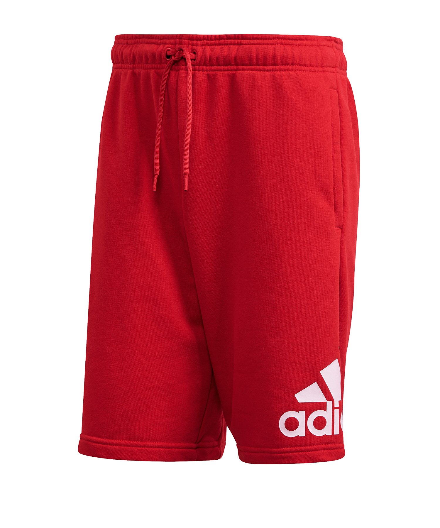 adidas MH BOS Short Rot Weiss - rot