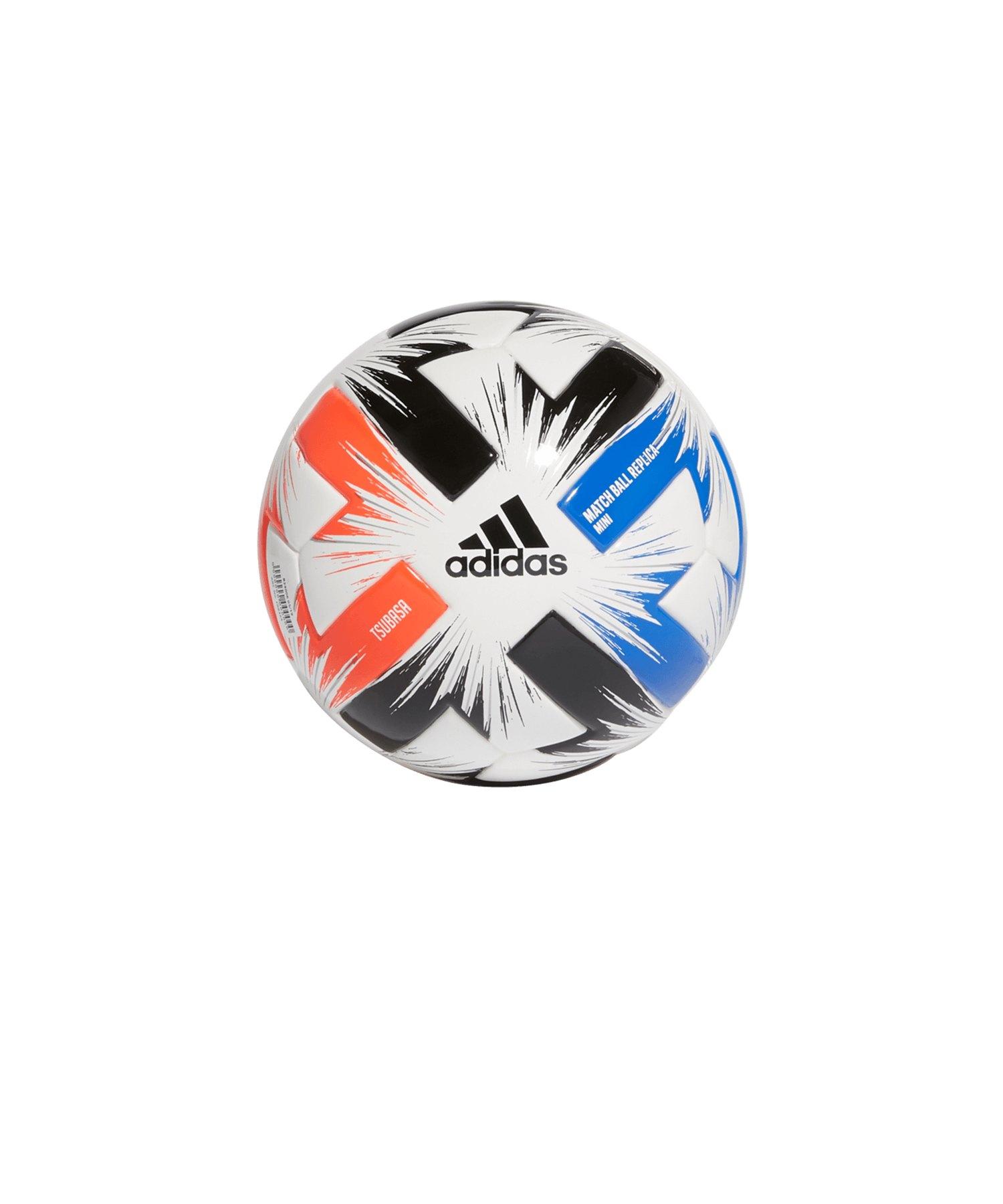 adidas Tsubasa Miniball Weiss Rot Blau - rot