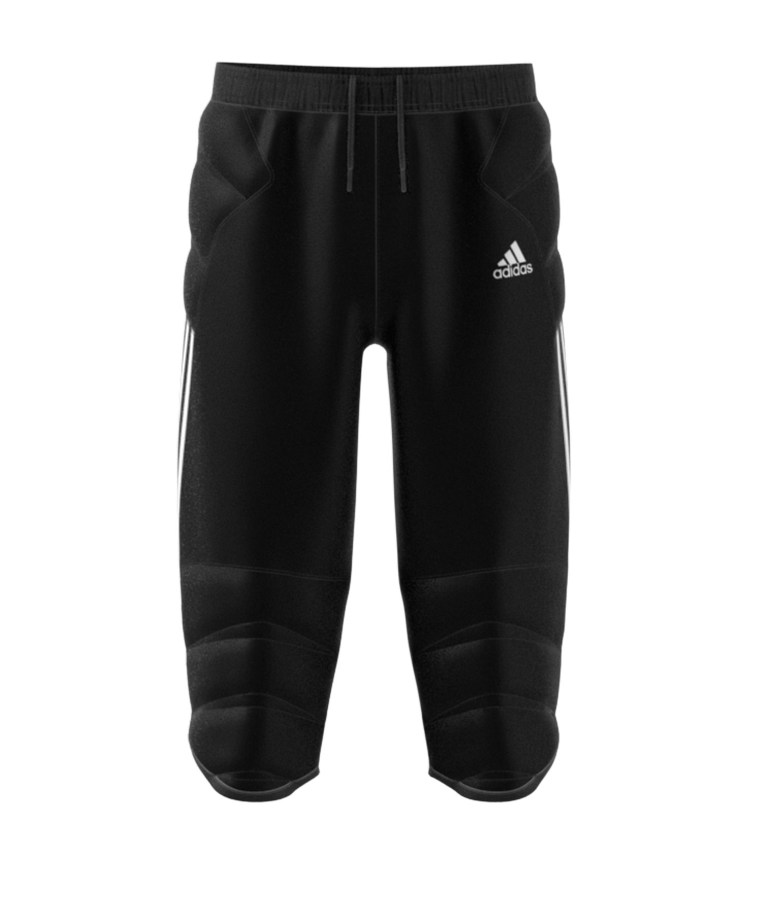 adidas Tierro 3/4 Torwarthose Kids Schwarz - schwarz