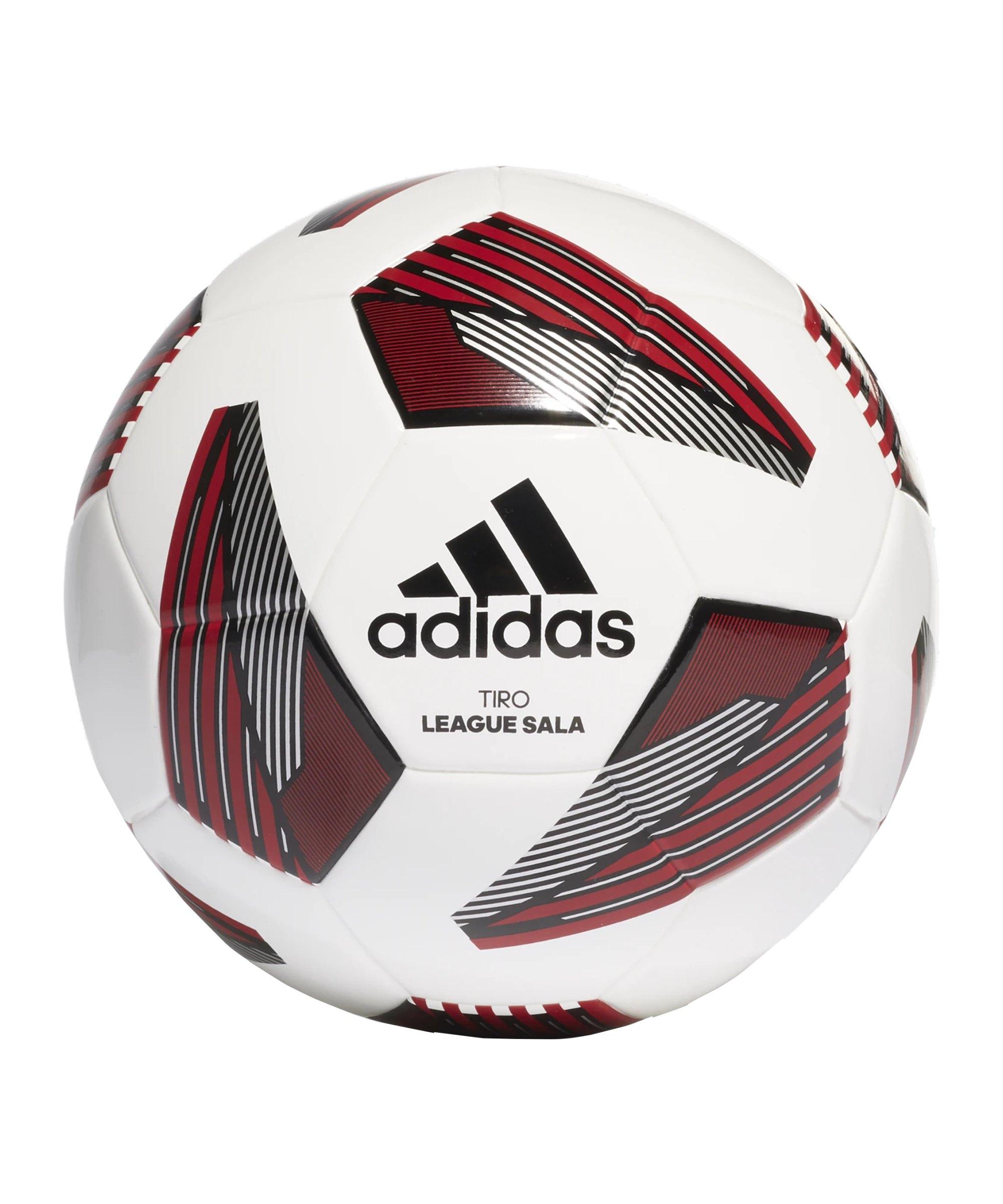 adidas Tiro League Sala Hallenfussball Weiss - weiss